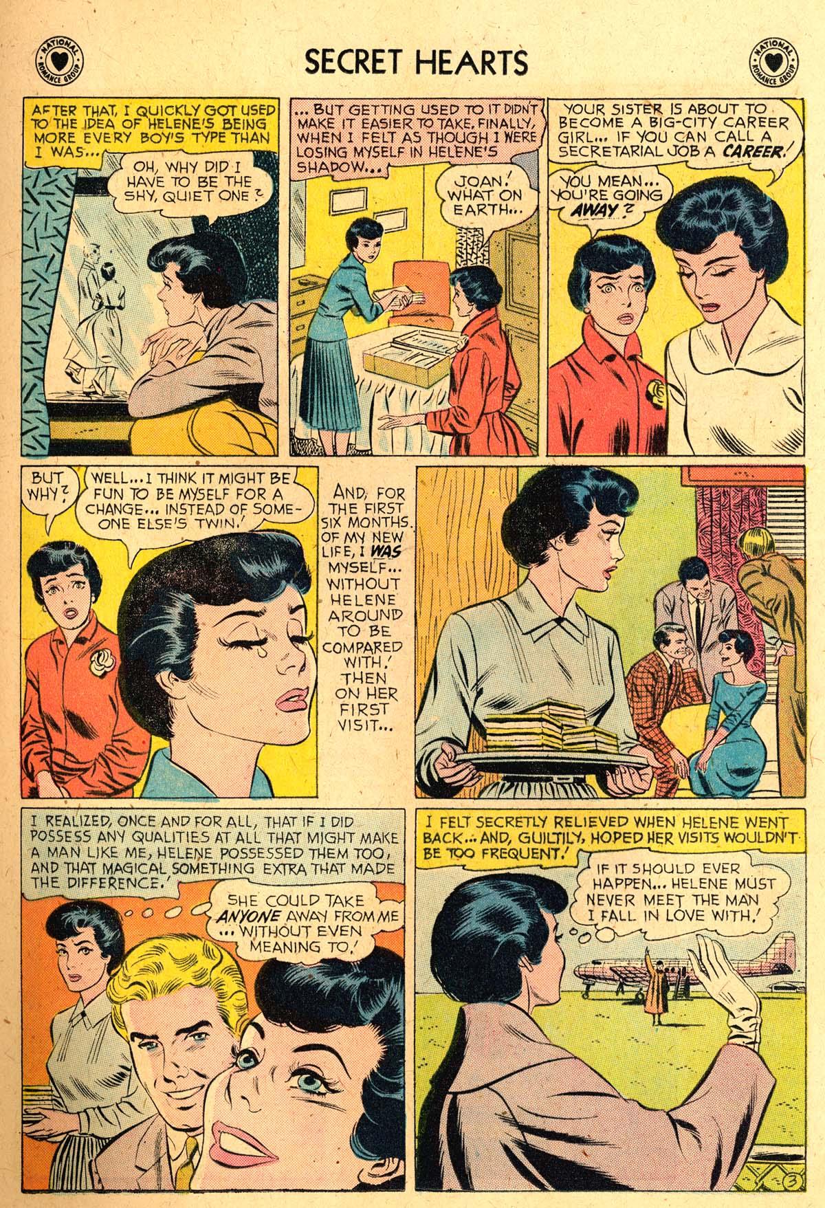 Read online Secret Hearts comic -  Issue #52 - 21