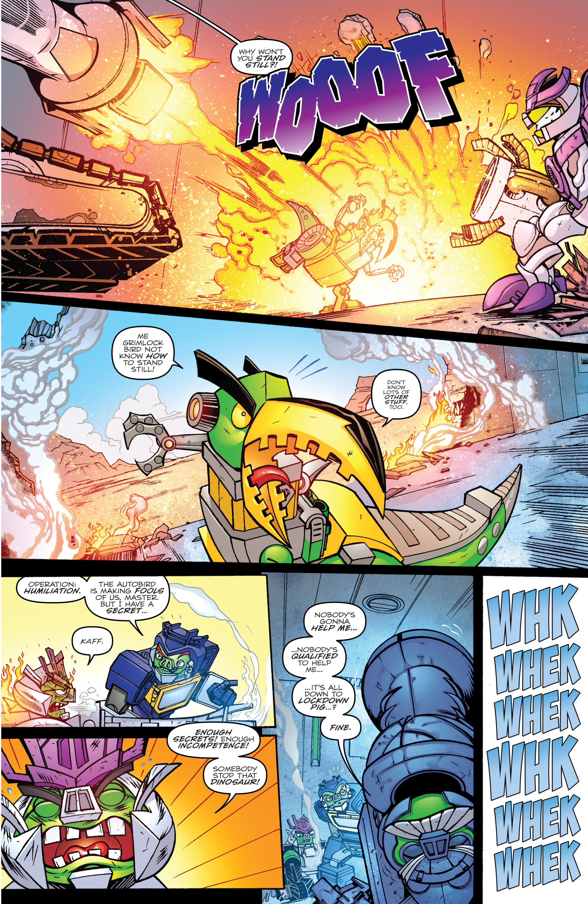Read online Angry Birds Transformers comic -  Issue #2 - 15