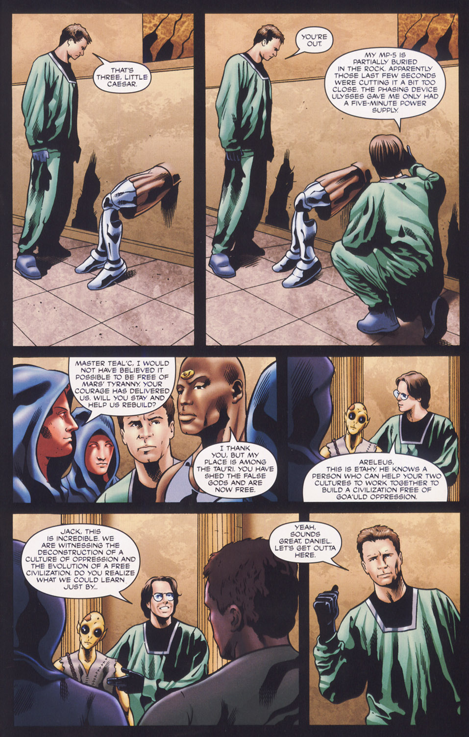 Read online Stargate SG-1: Fall of Rome comic -  Issue #3 - 23