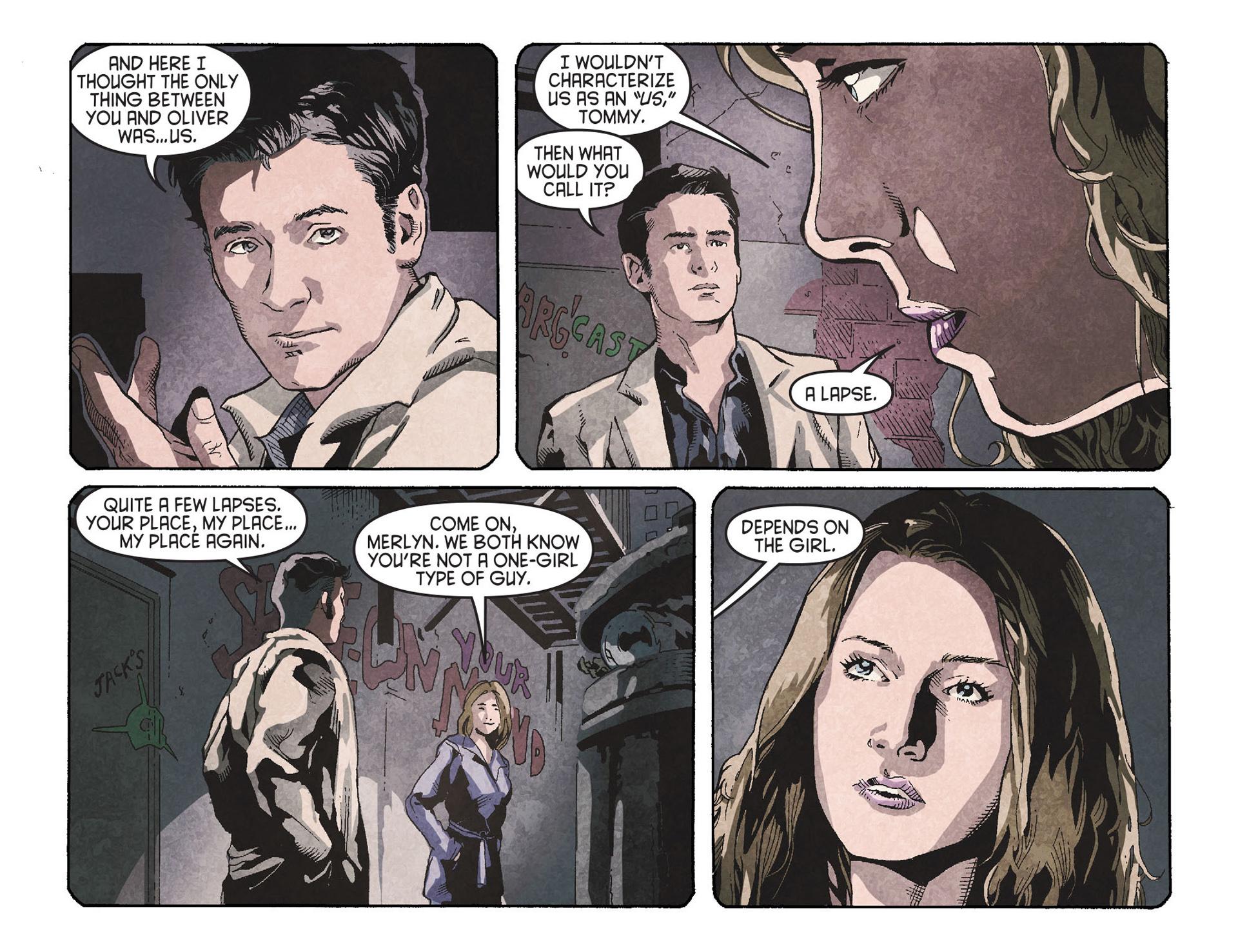 Read online Arrow [II] comic -  Issue #26 - 20