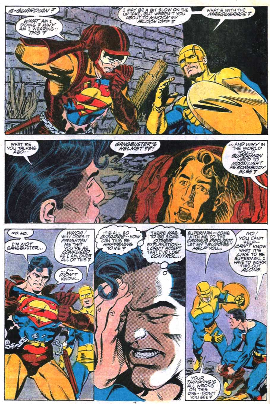 Read online Adventures of Superman (1987) comic -  Issue #450 - 3