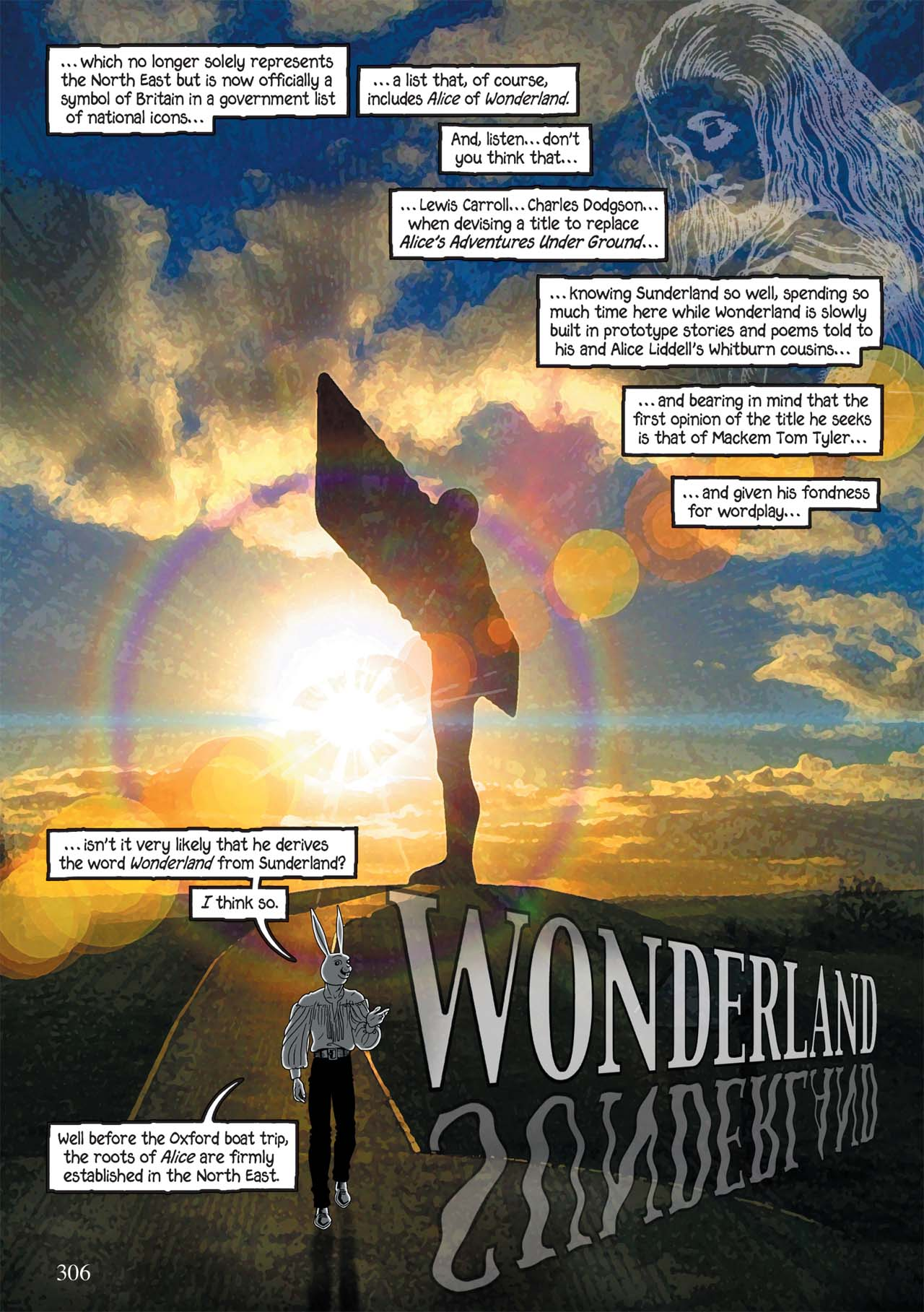 Read online Alice in Sunderland comic -  Issue # Full - 310