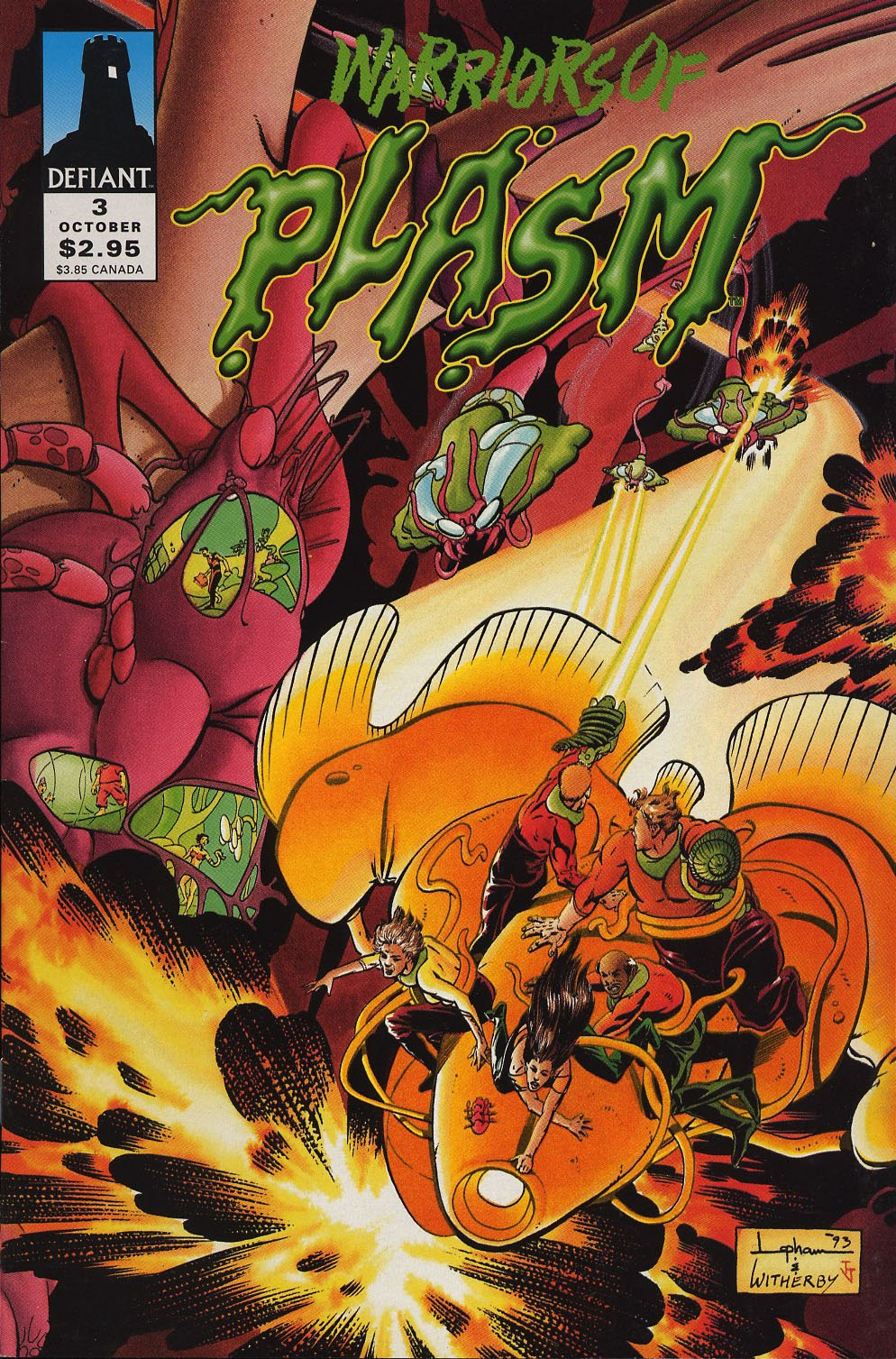 Warriors of Plasm 3 Page 1