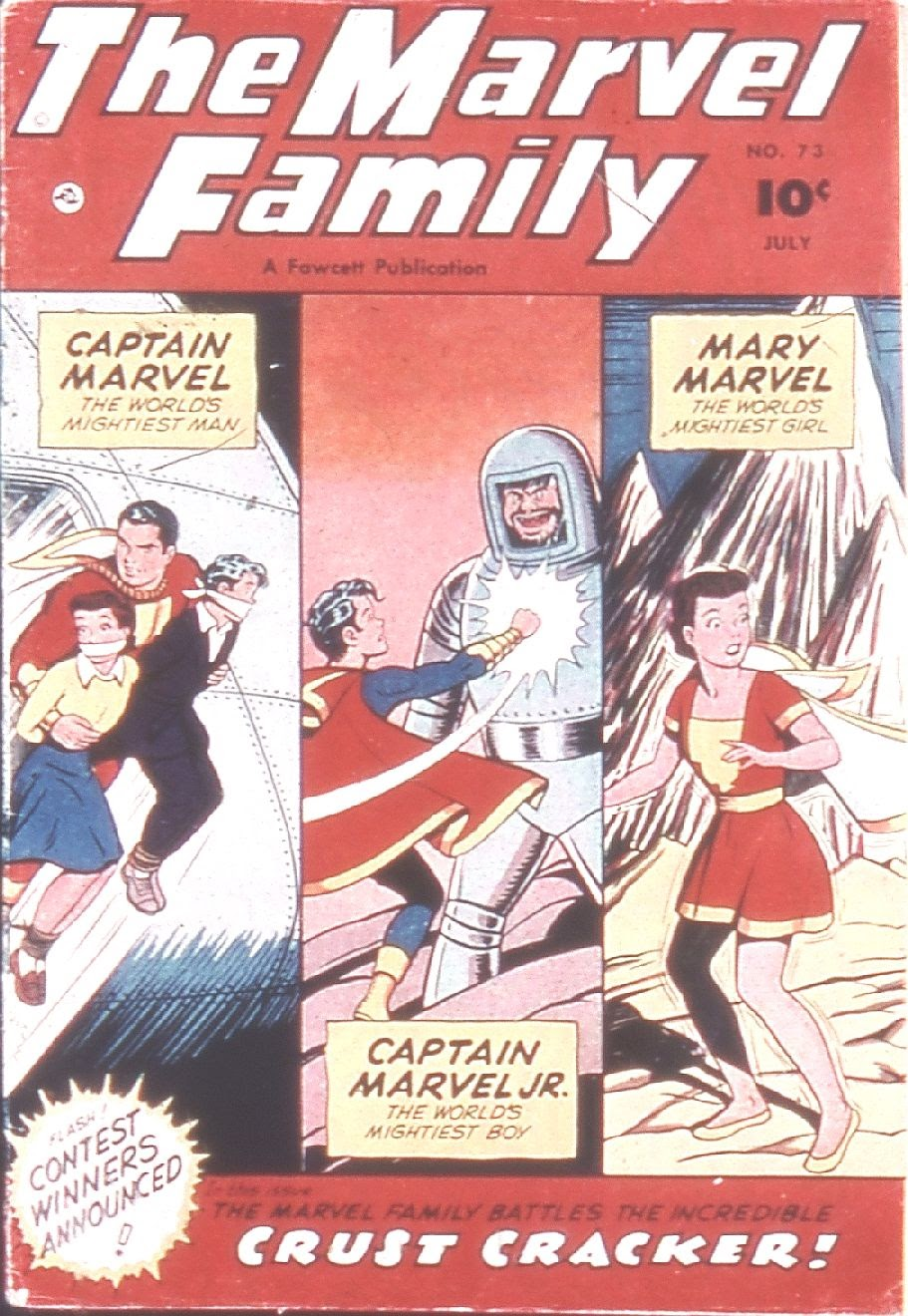 The Marvel Family issue 73 - Page 1