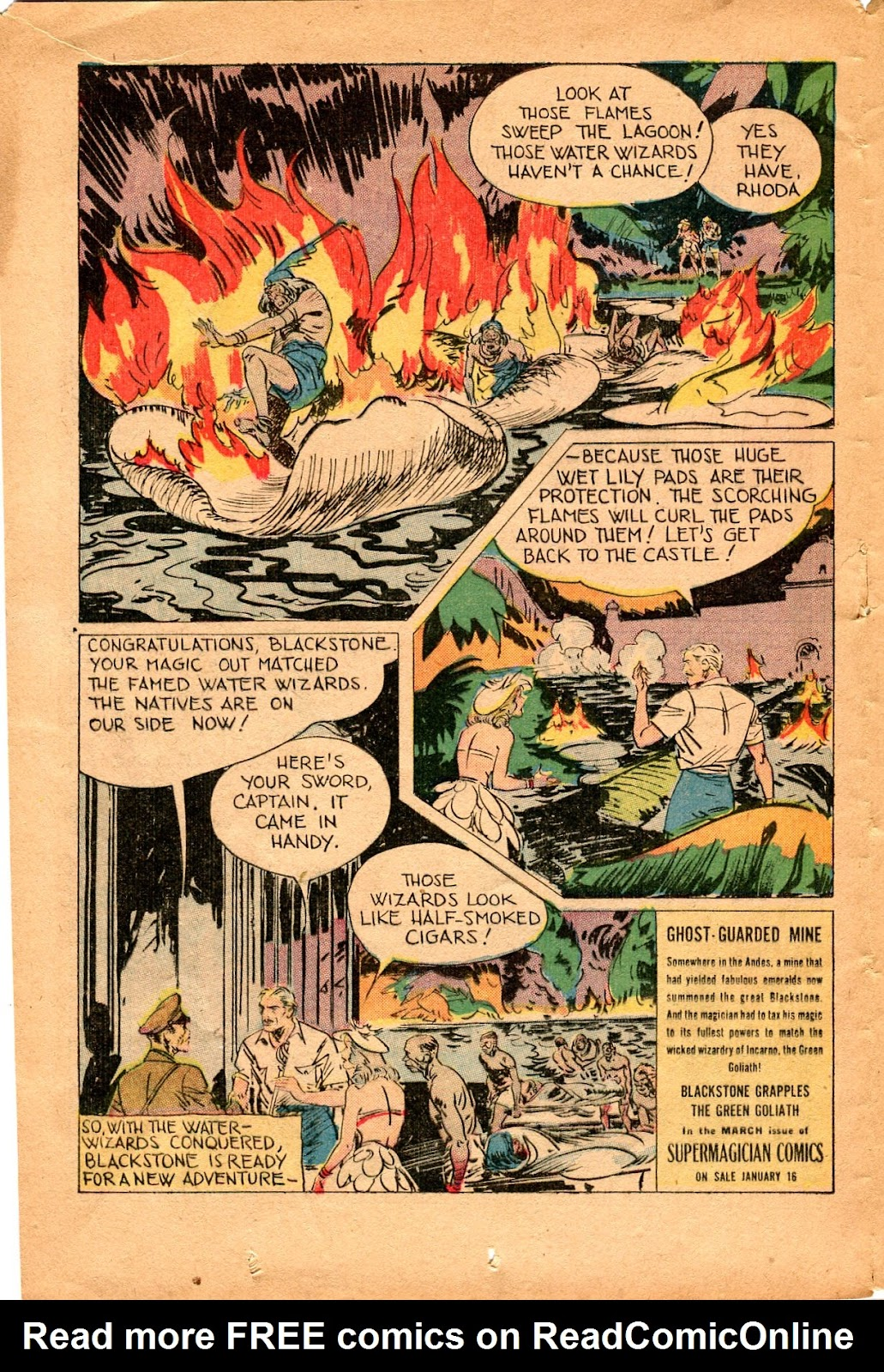 Read online Super-Magician Comics comic -  Issue #34 - 16