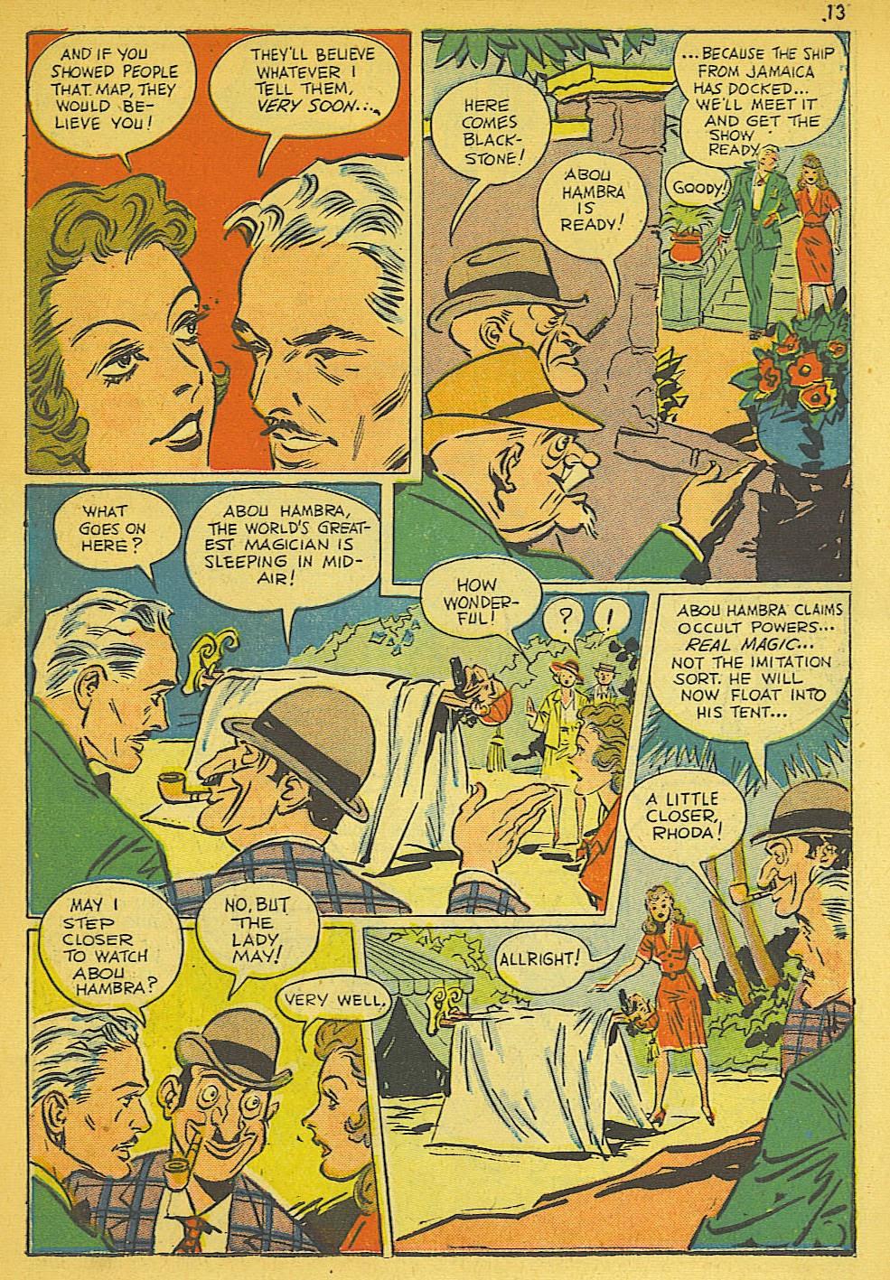 Read online Super-Magician Comics comic -  Issue #19 - 13