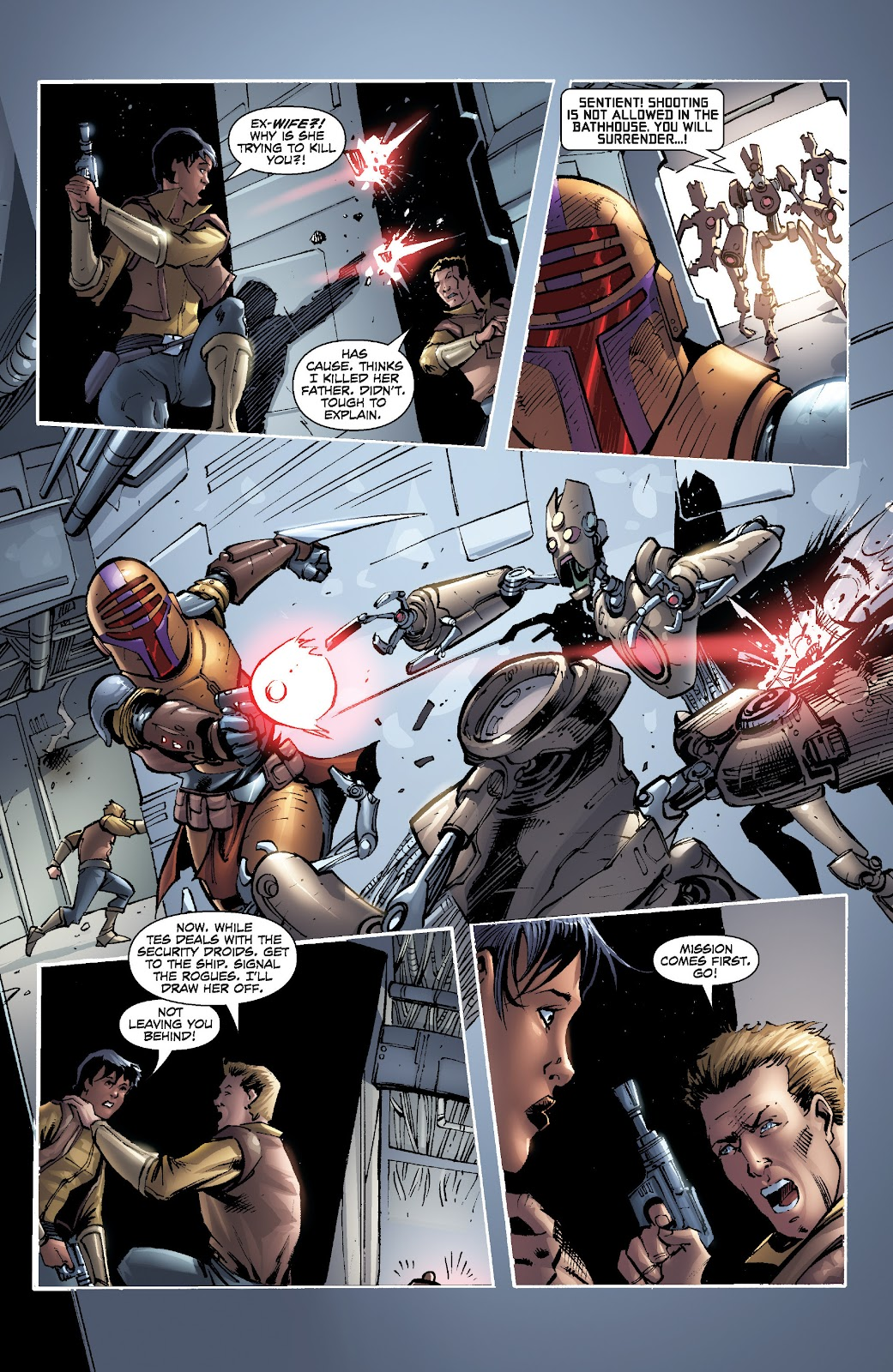 Read online Star Wars Legends: Legacy - Epic Collection comic -  Issue # TPB 2 (Part 5) - 27