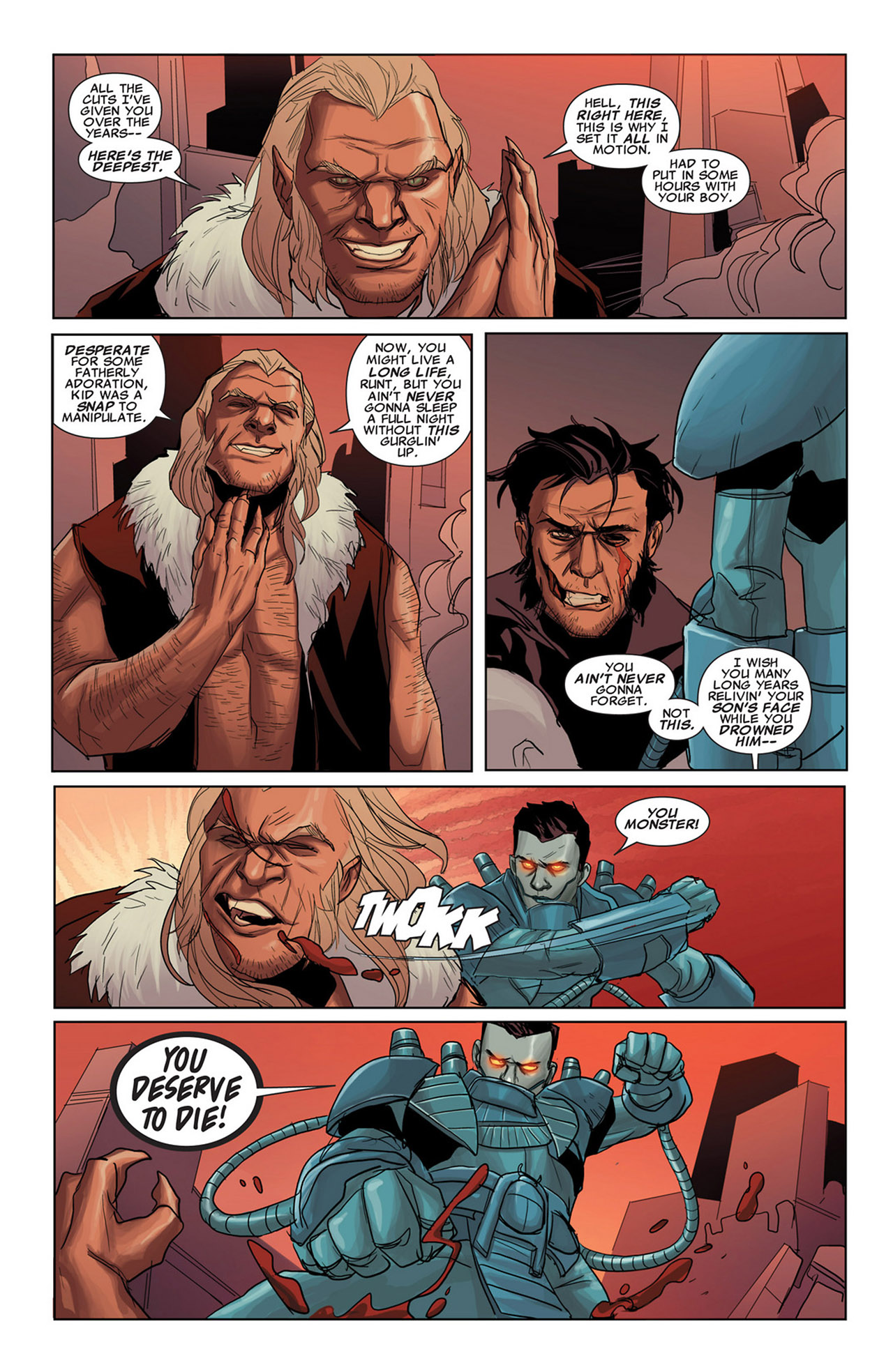 Read online Uncanny X-Force (2010) comic -  Issue #34 - 20