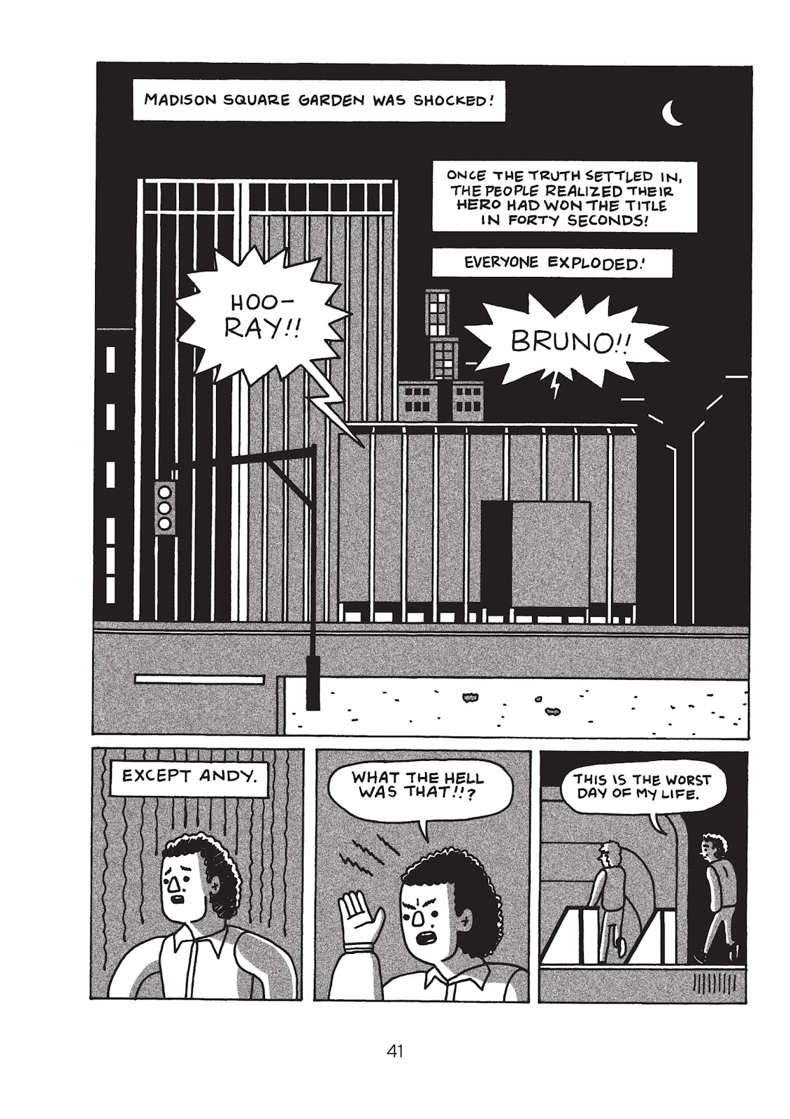 Read online Is This Guy For Real?: The Unbelievable Andy Kaufman comic -  Issue # TPB (Part 1) - 46