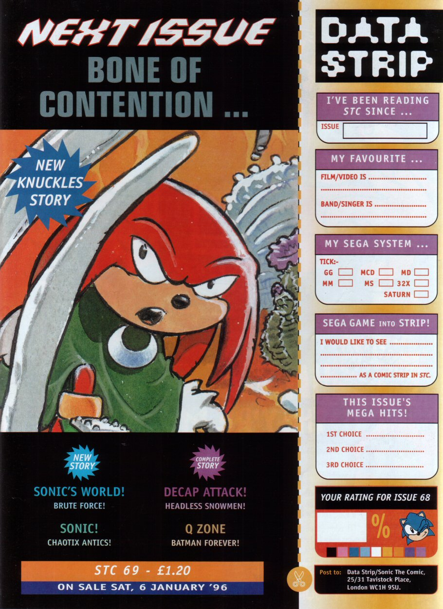 Read online Sonic the Comic comic -  Issue #68 - 31