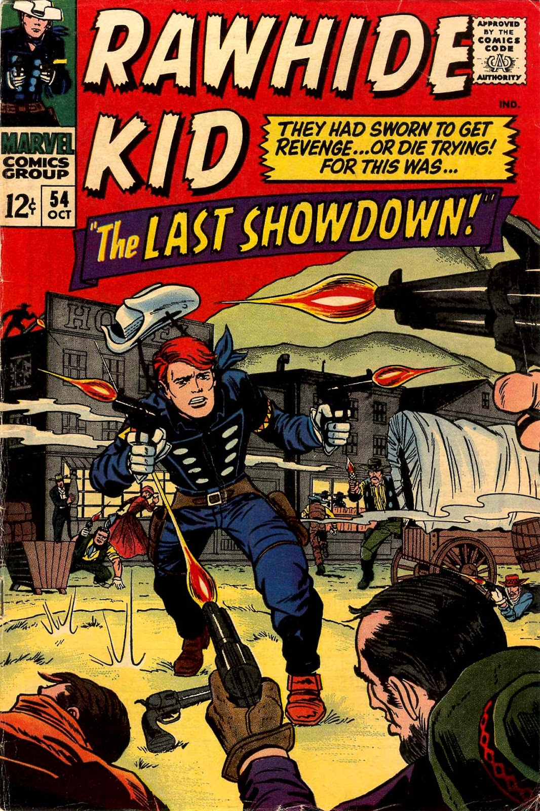 The Rawhide Kid (1955) issue 54 - Page 1