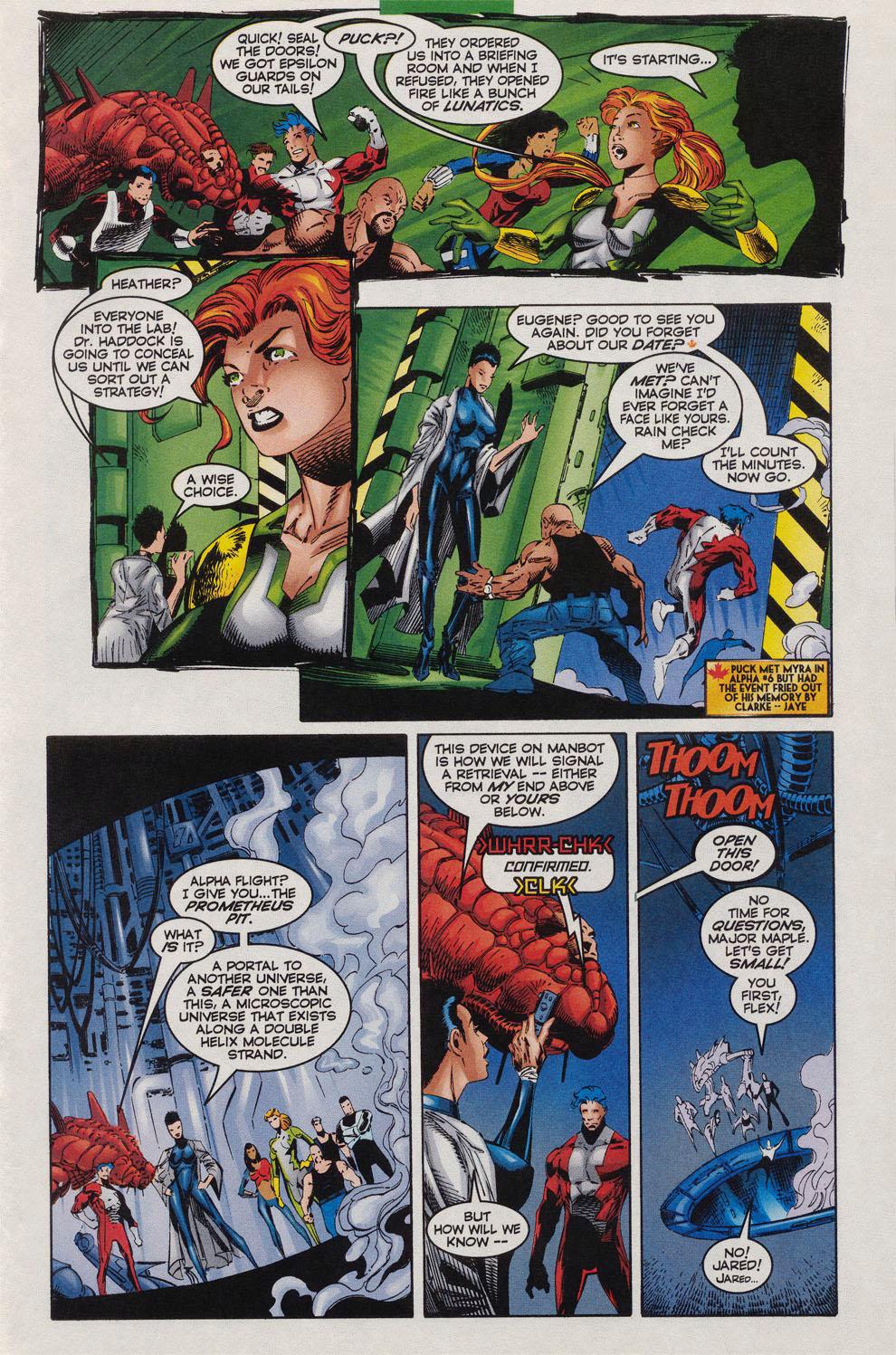 Read online Alpha Flight (1997) comic -  Issue #10 - 11