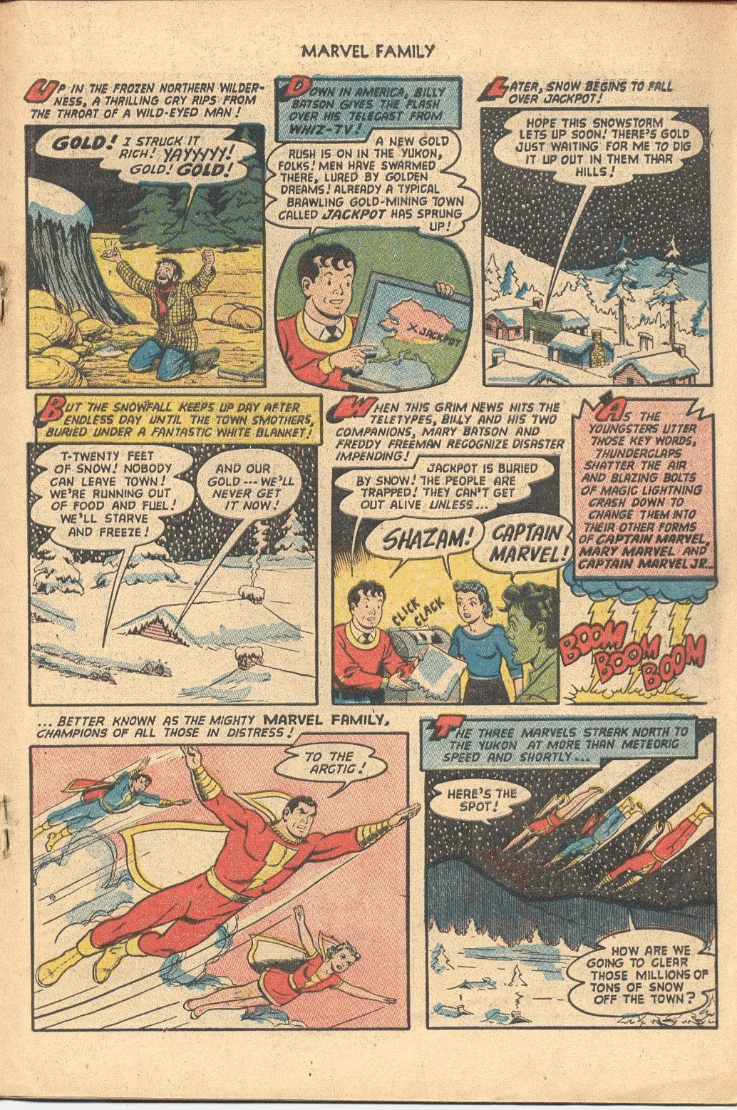 The Marvel Family issue 82 - Page 19