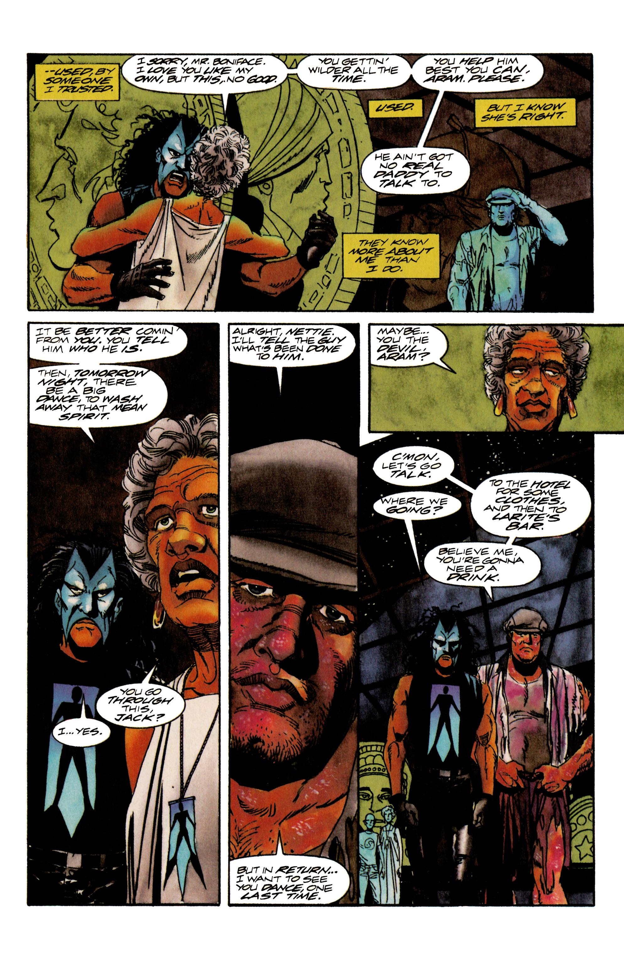 Read online Shadowman (1992) comic -  Issue #17 - 19