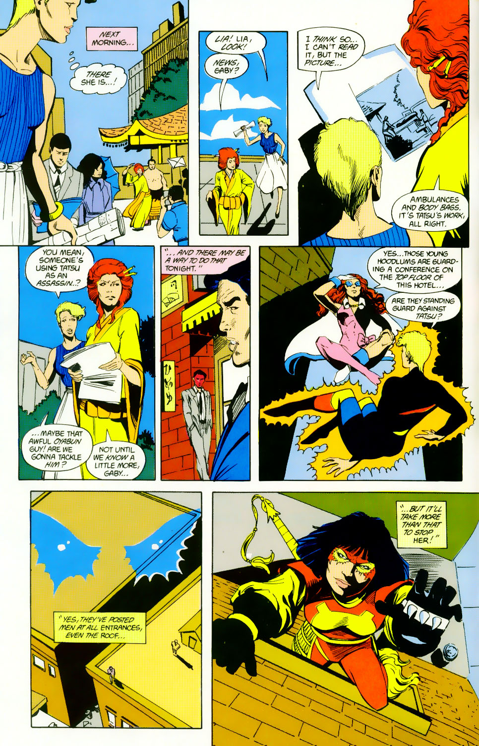 Read online Adventures of the Outsiders comic -  Issue #46 - 17