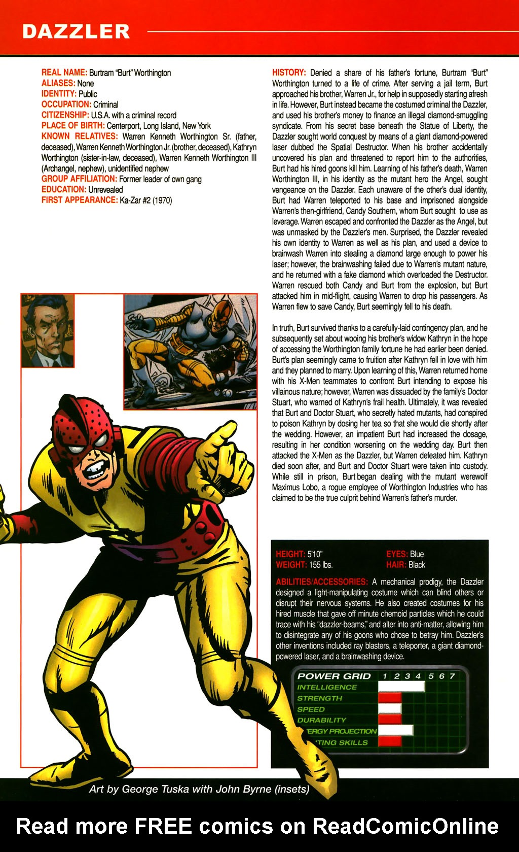 Read online All-New Official Handbook of the Marvel Universe A to Z comic -  Issue #3 - 24