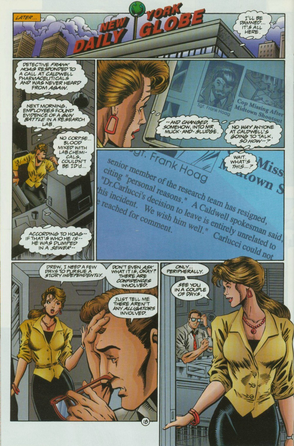 Read online Sludge comic -  Issue #10 - 21