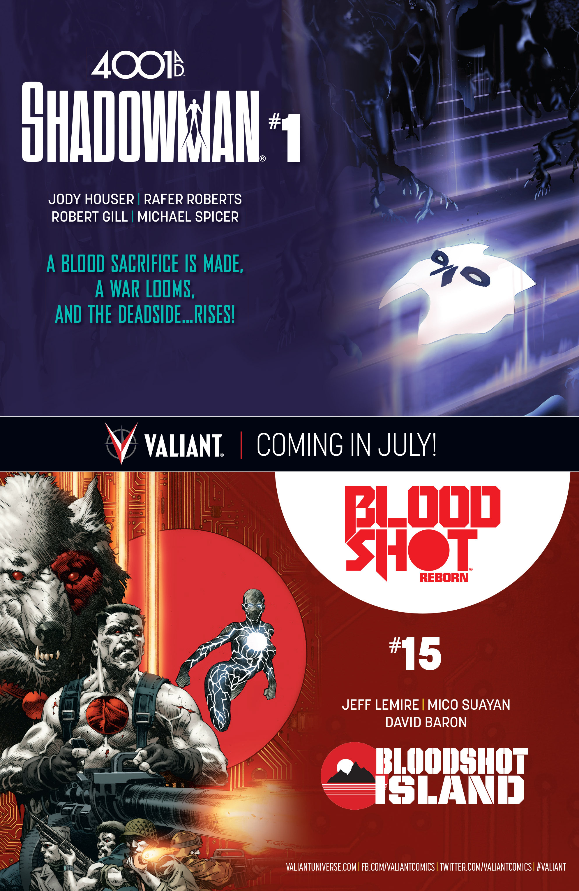 Read online 4001 A.D.: Bloodshot comic -  Issue #4001 A.D.: Bloodshot Full - 24