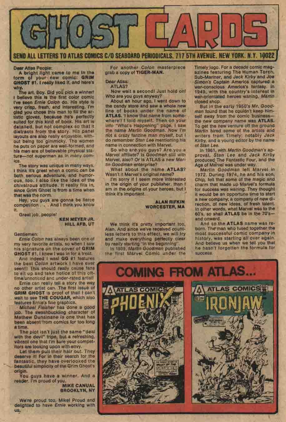 The Grim Ghost (1975) issue 3 - Page 21