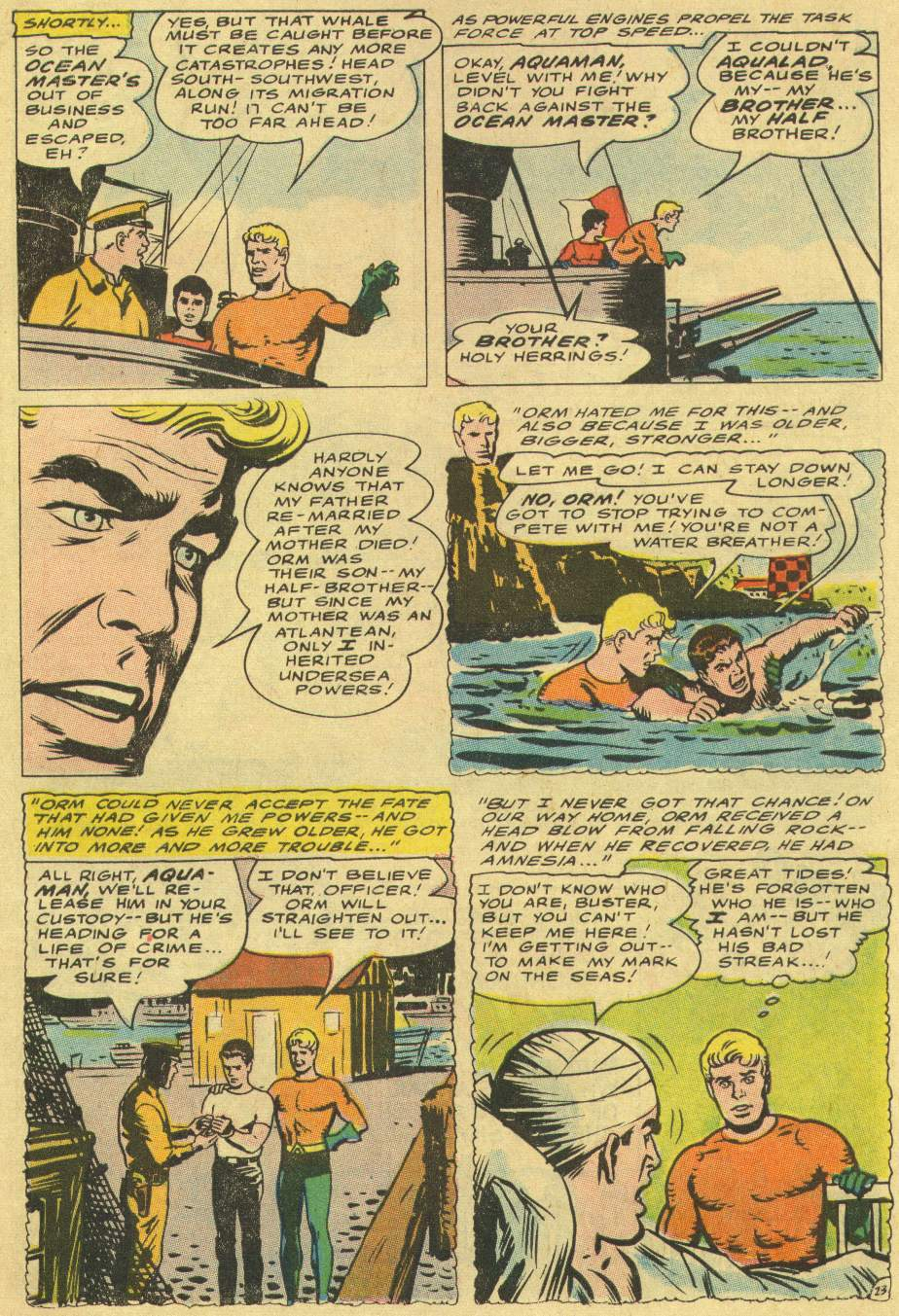 Read online Aquaman (1962) comic -  Issue #29 - 31