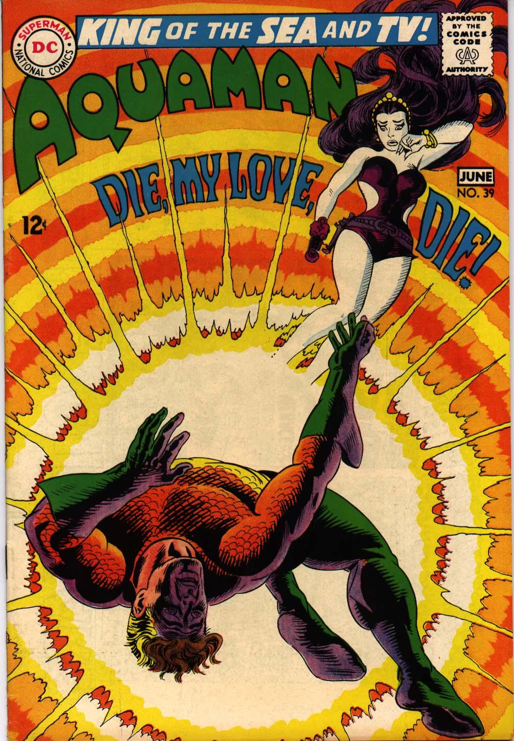 Read online Aquaman (1962) comic -  Issue #39 - 1