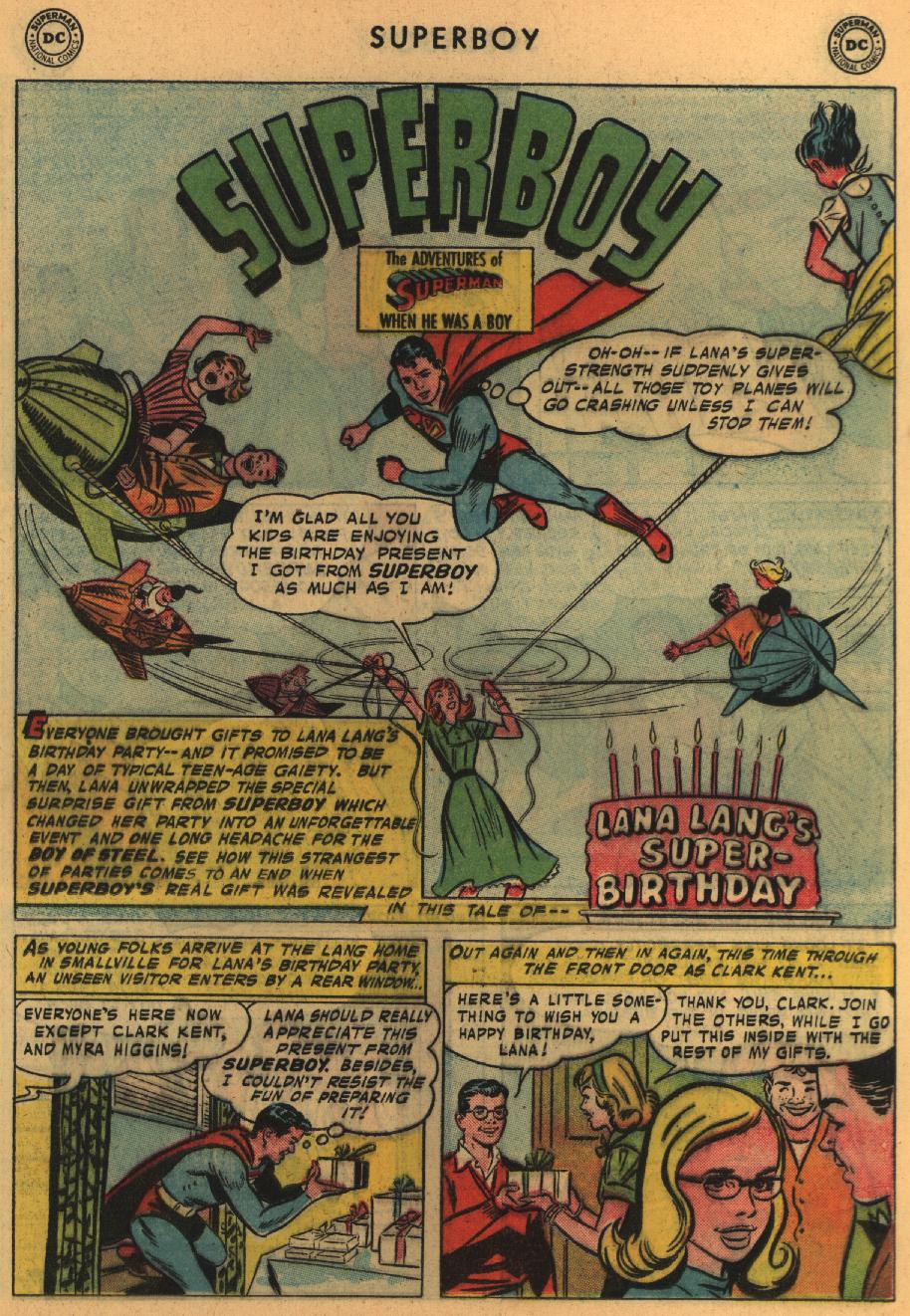 Superboy (1949) issue 64 - Page 11