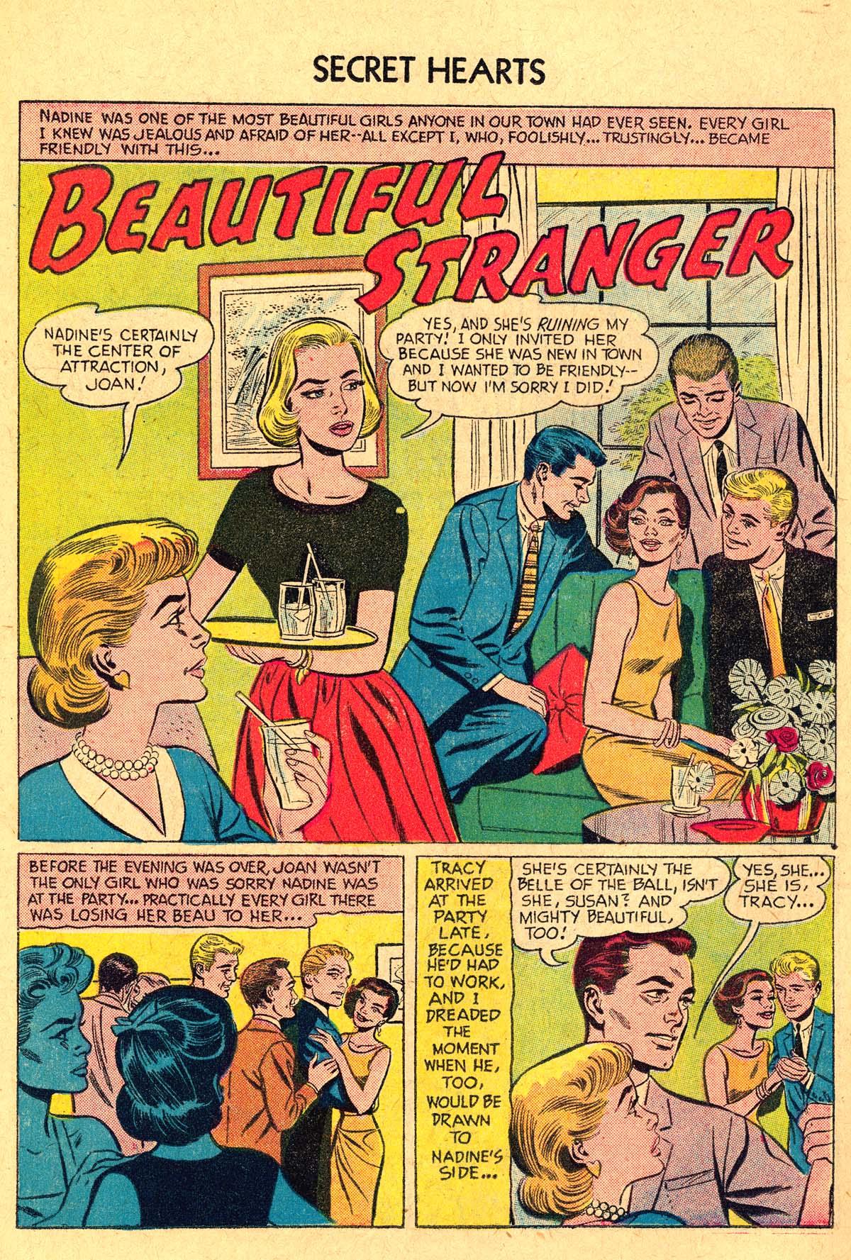 Read online Secret Hearts comic -  Issue #40 - 18