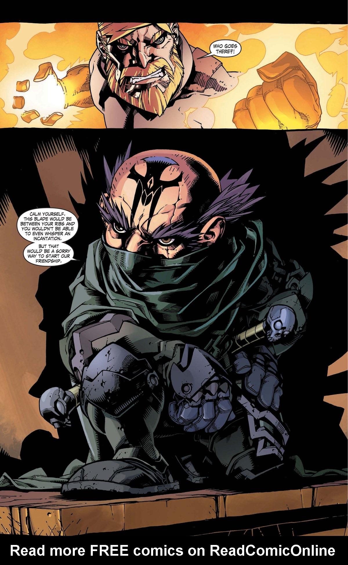 Read online World of Warcraft: Dark Riders comic -  Issue # Full - 85