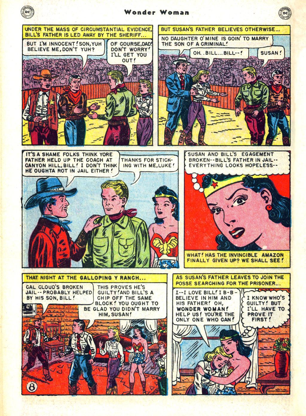 Read online Wonder Woman (1942) comic -  Issue #45 - 46