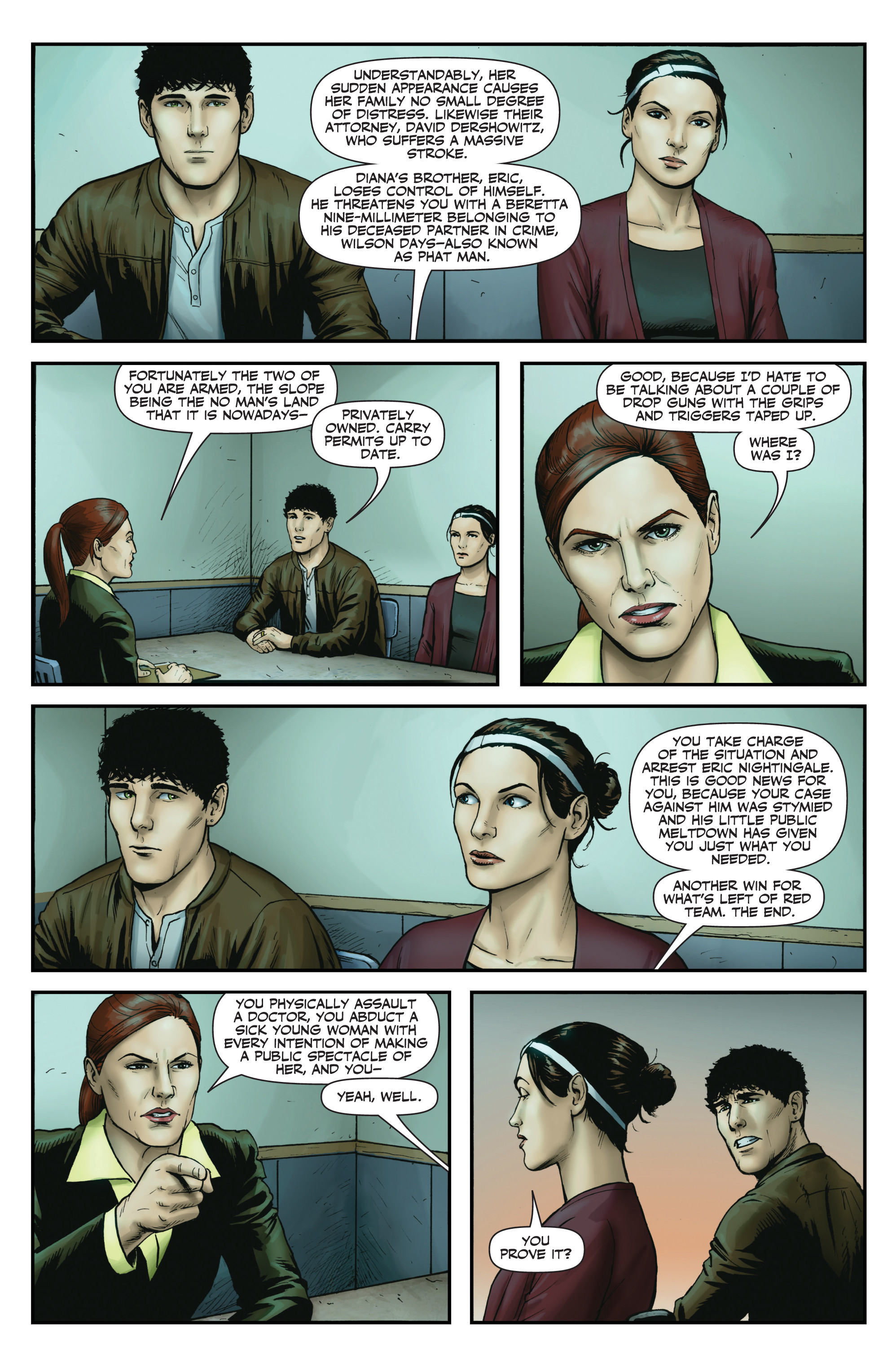 Read online Red Team: Double Tap, Center Mass comic -  Issue #9 - 18