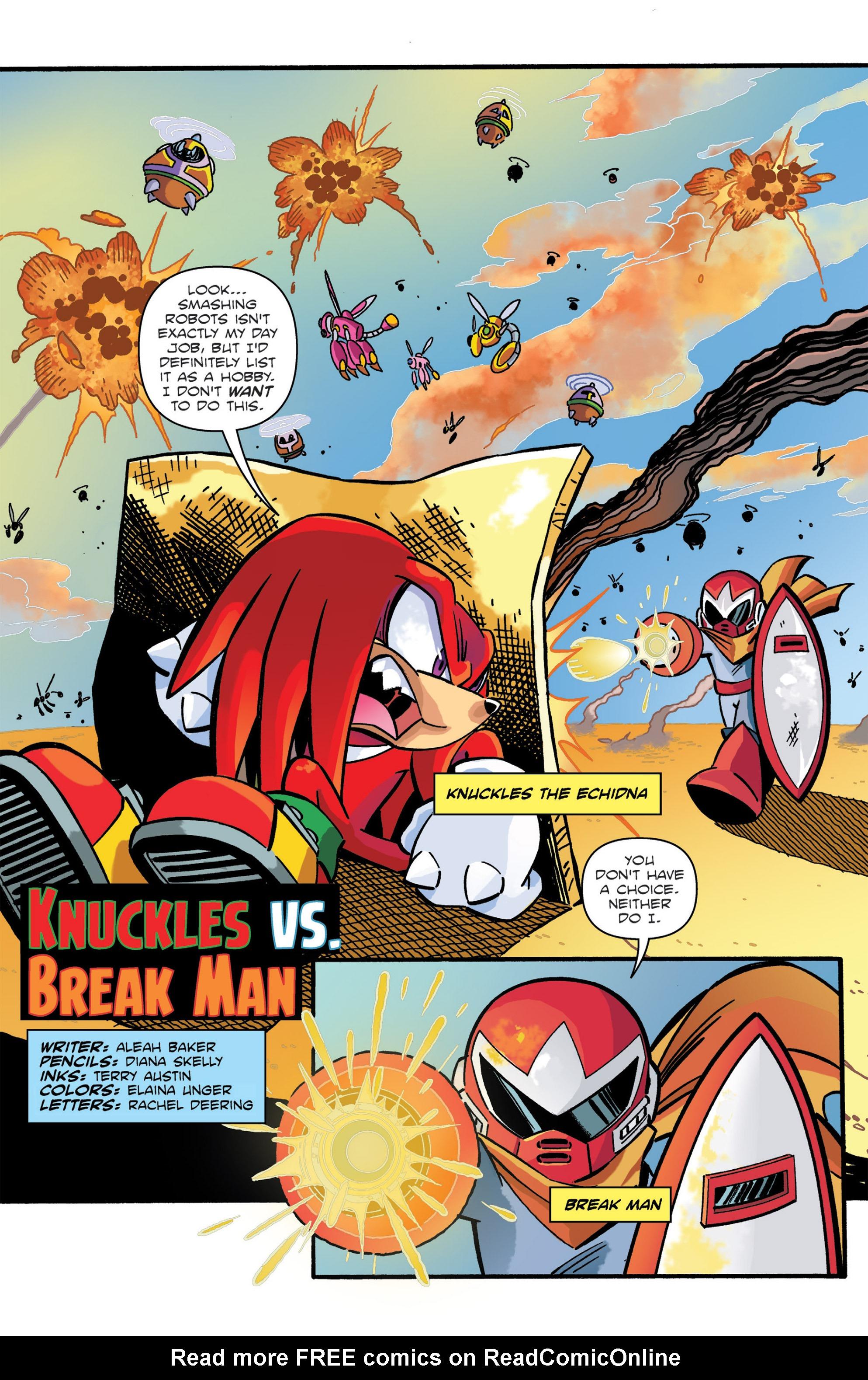 Read online Sonic: Worlds Unite Battles comic -  Issue # Full - 20