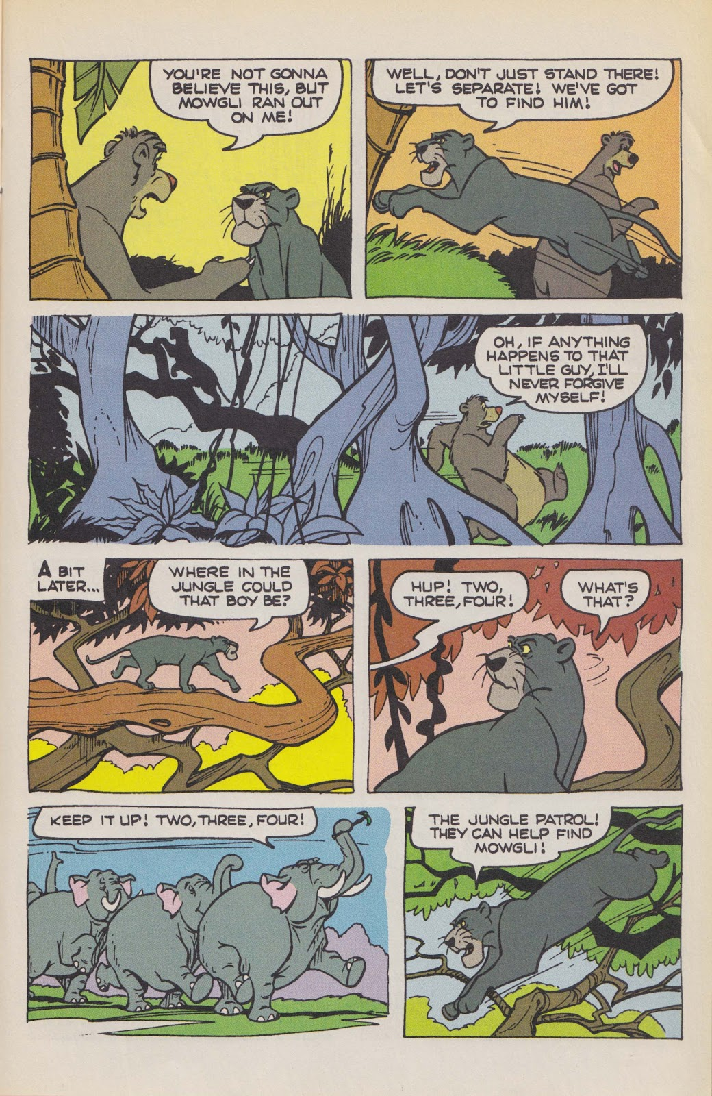 Read online The Jungle Book comic -  Issue # Full - 41