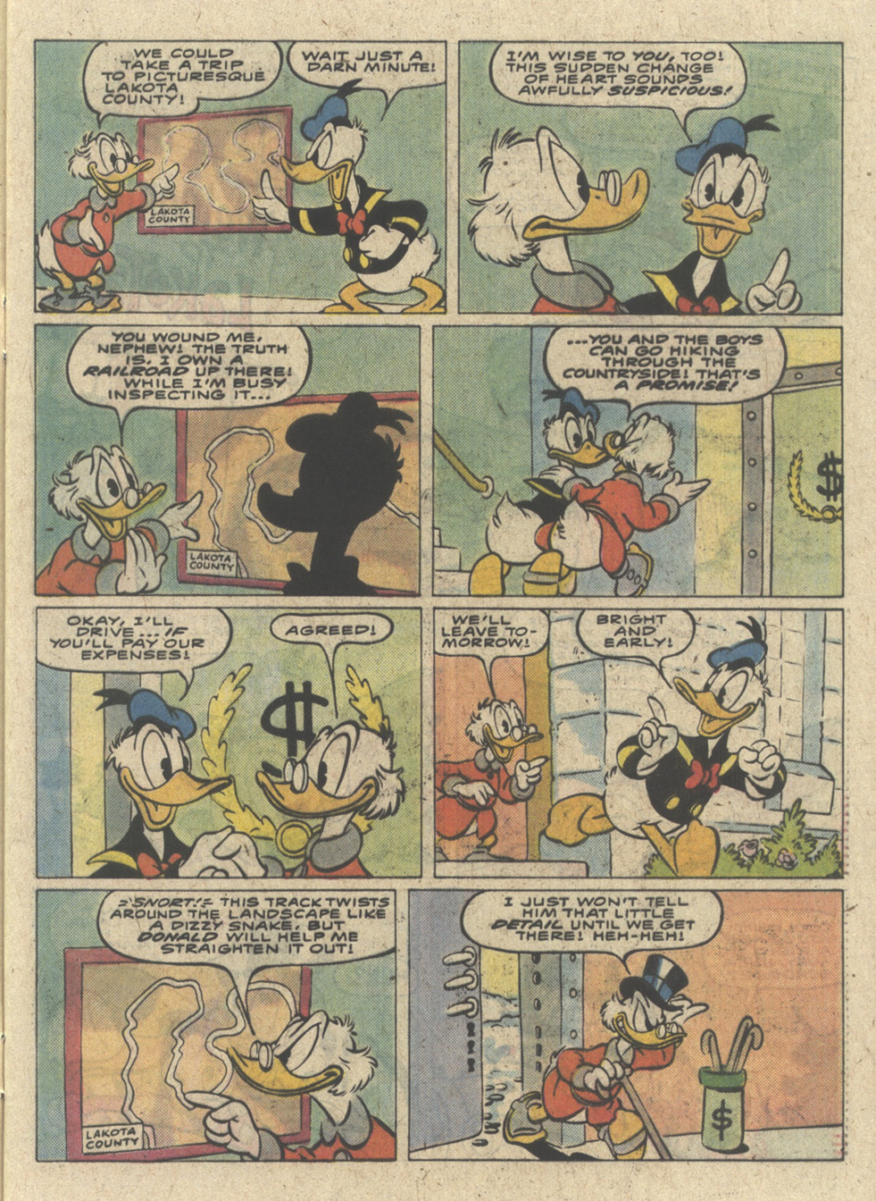 Read online Uncle Scrooge (1953) comic -  Issue #227 - 5