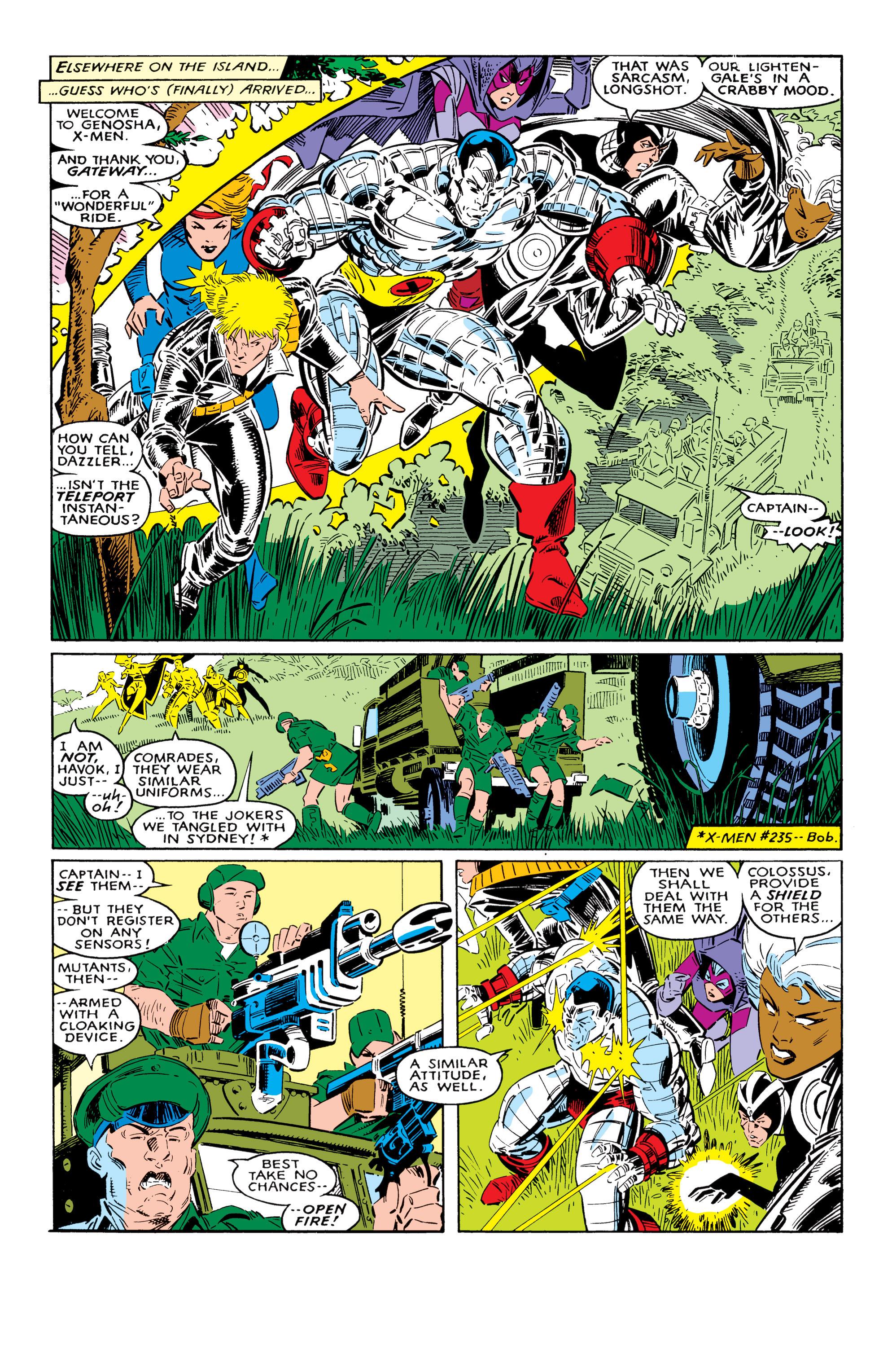 Read online Uncanny X-Men (1963) comic -  Issue #237 - 16