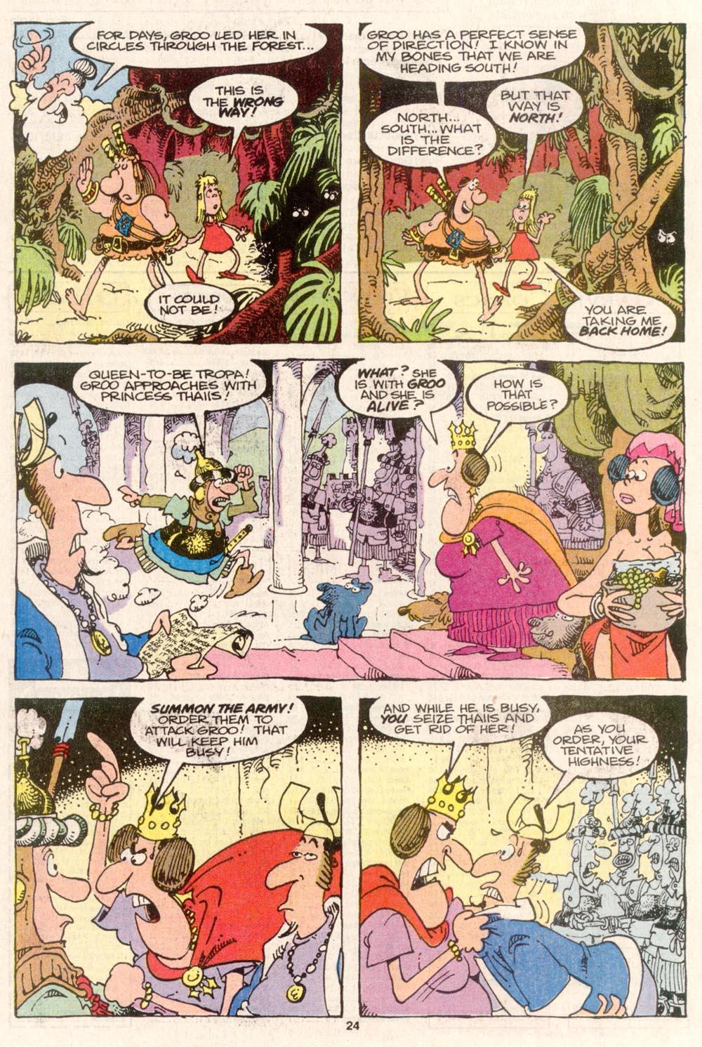 Read online Sergio Aragonés Groo the Wanderer comic -  Issue #80 - 18