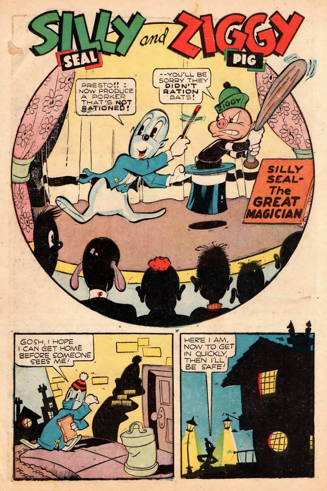 Ziggy Pig-Silly Seal Comics (1944) issue 2 - Page 10