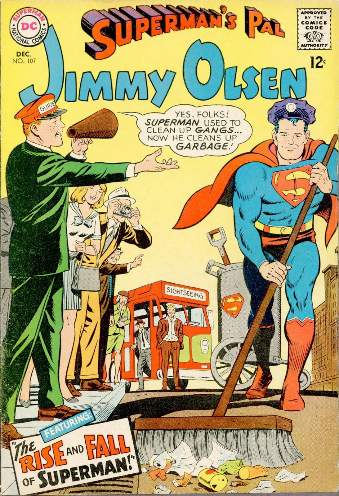 Supermans Pal Jimmy Olsen (1954) 107 Page 1