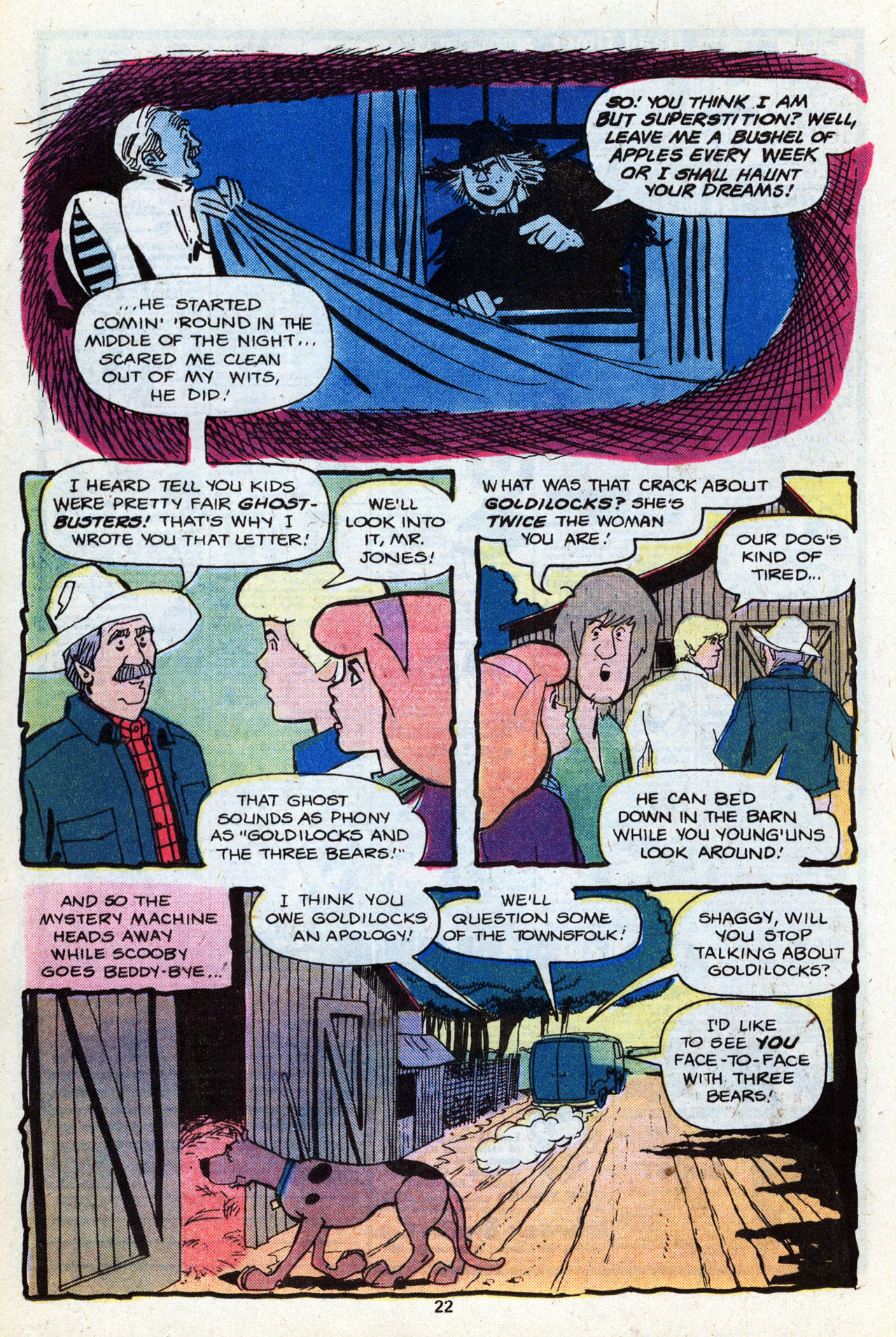 Read online Scooby-Doo (1977) comic -  Issue #7 - 24