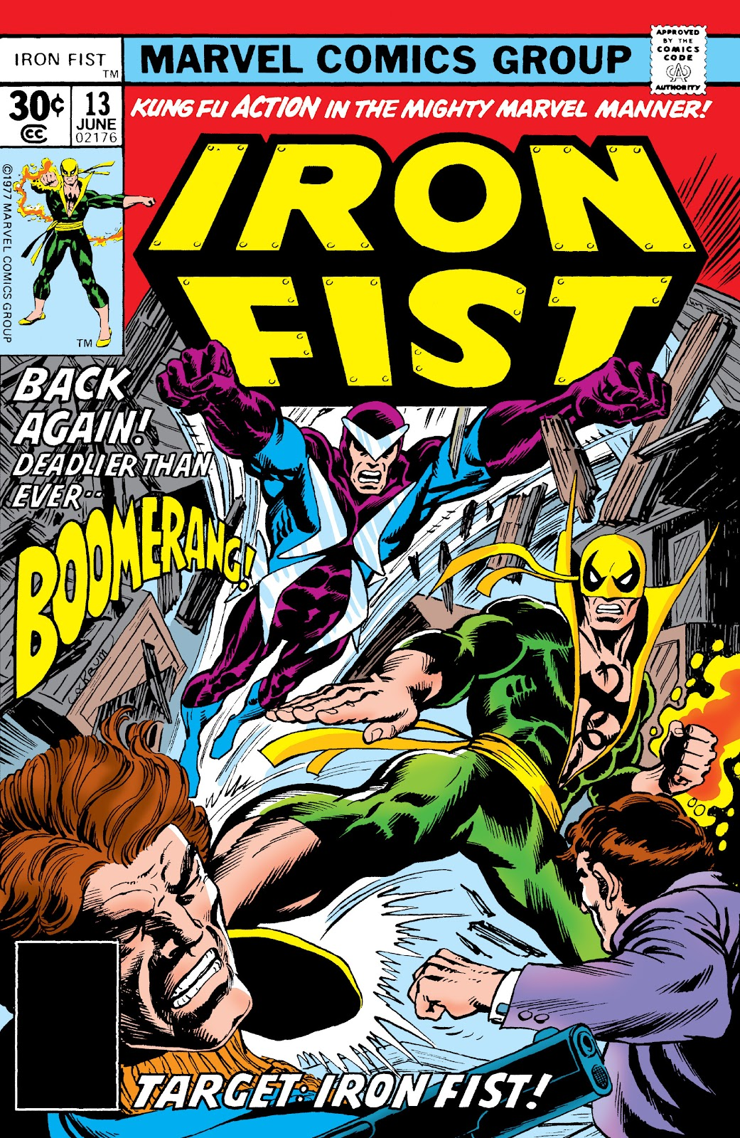 Iron Fist (1975) issue 13 - Page 1