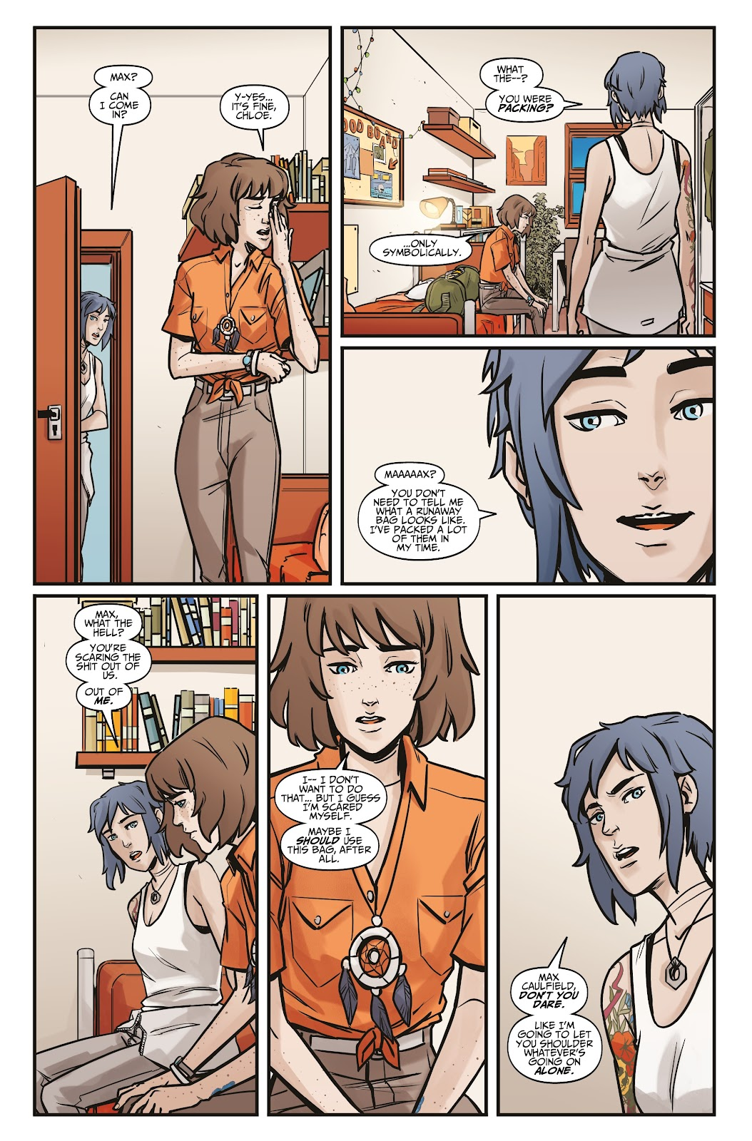 Read online Life is Strange comic -  Issue #6 - 24
