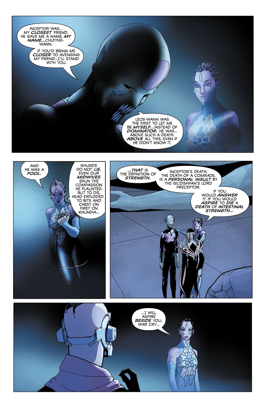 Read online Electric Warriors comic -  Issue #5 - 6