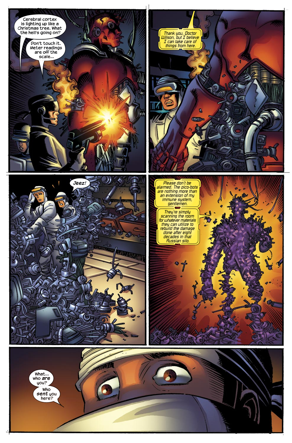 Read online Ultimate Vision comic -  Issue #0 - 5