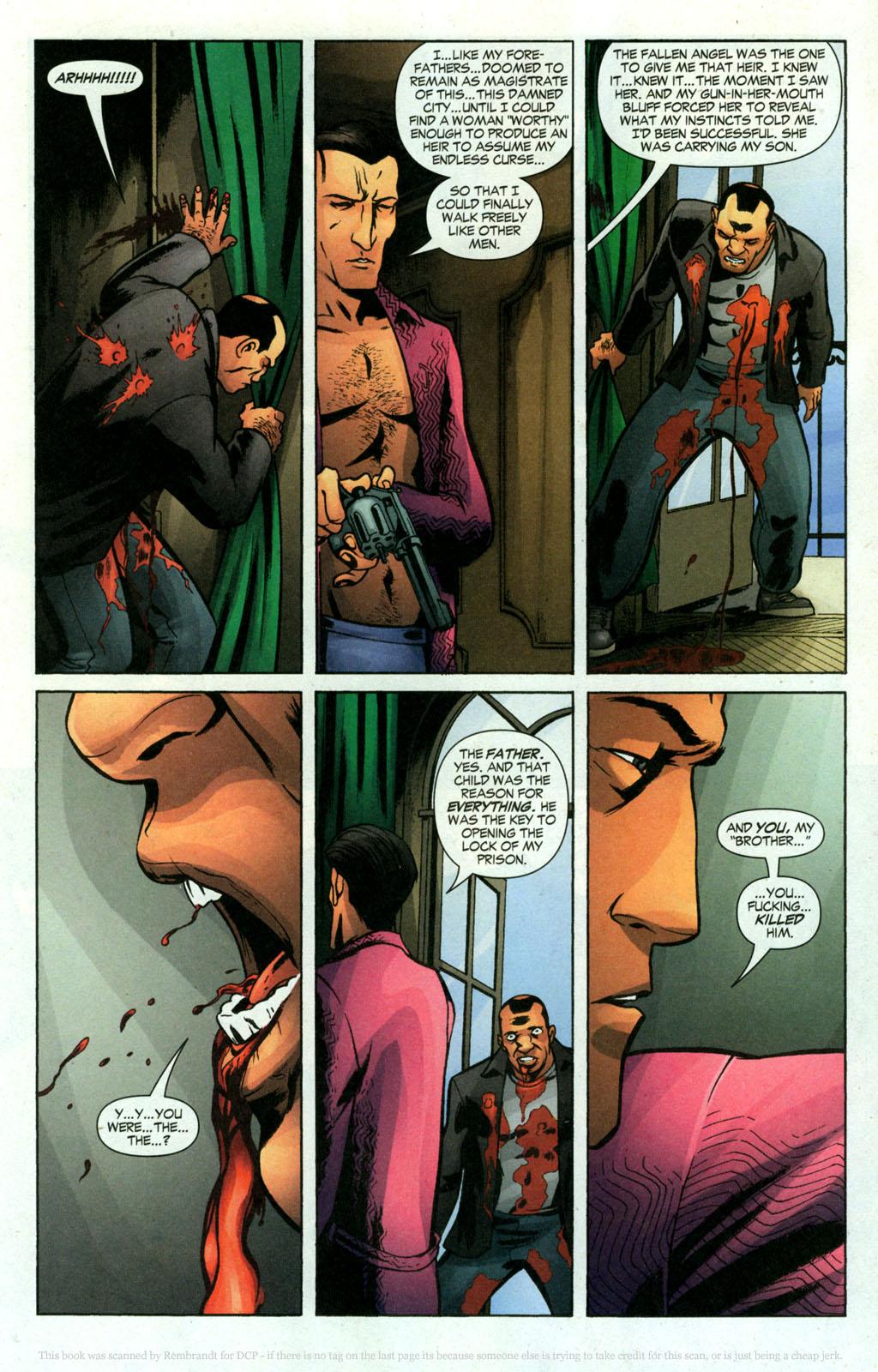 Read online Fallen Angel (2003) comic -  Issue #18 - 17
