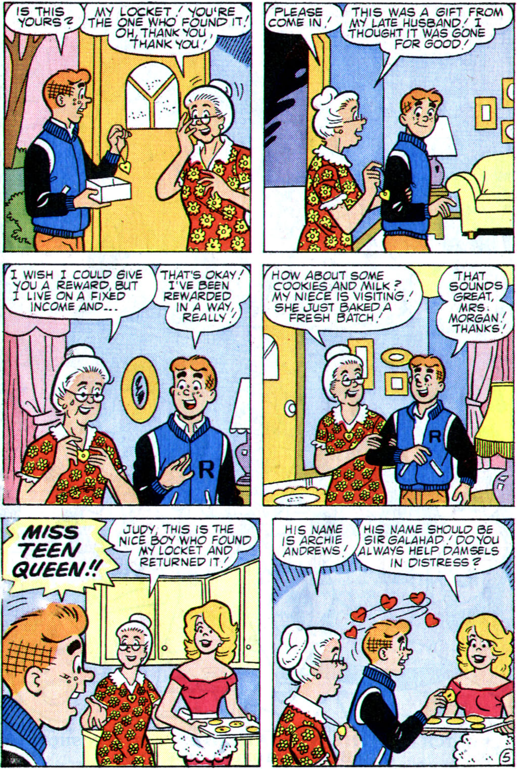 Read online Archie (1960) comic -  Issue #355 - 7
