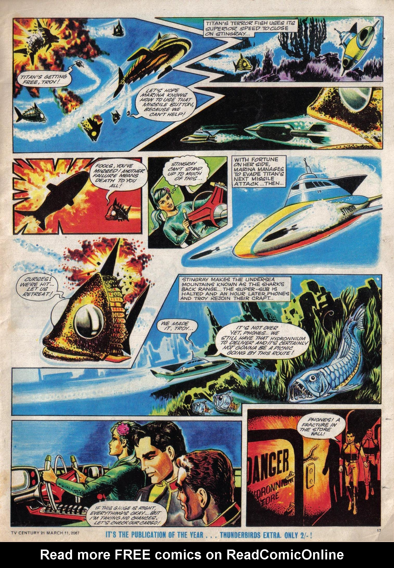Read online TV Century 21 (TV 21) comic -  Issue #112 - 16