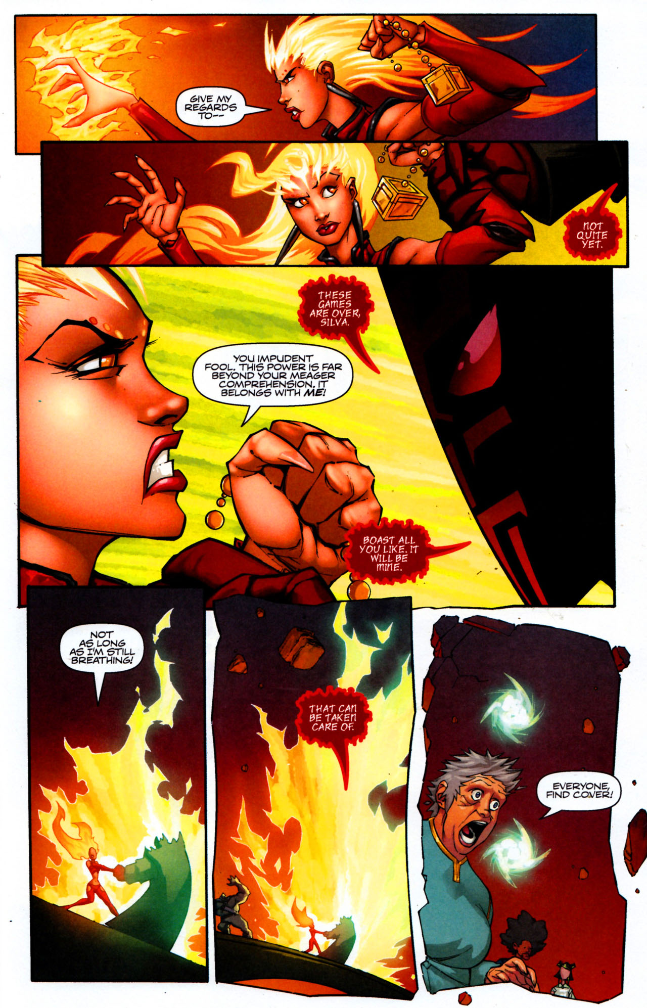 Read online Shrugged (2006) comic -  Issue #8 - 23