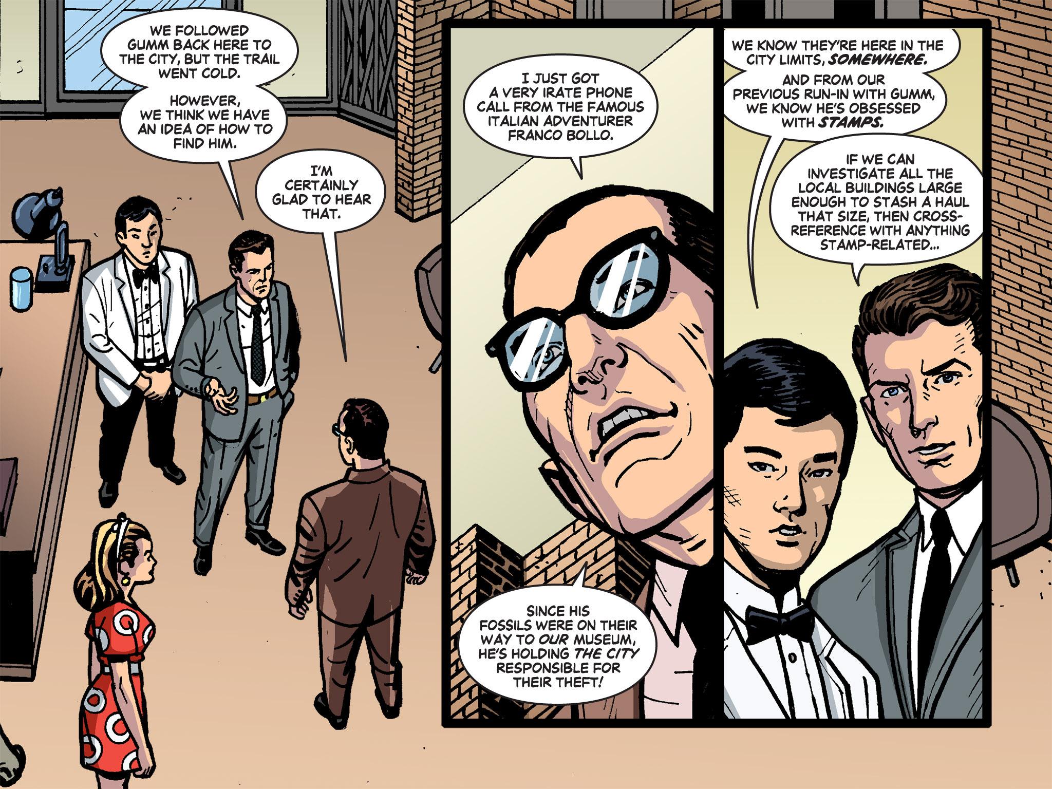 Read online Batman '66 Meets the Green Hornet [II] comic -  Issue #4 - 55