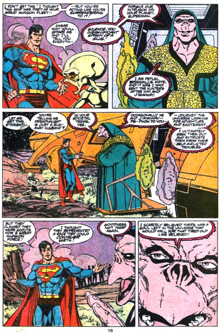 Read online Adventures of Superman (1987) comic -  Issue #469 - 19