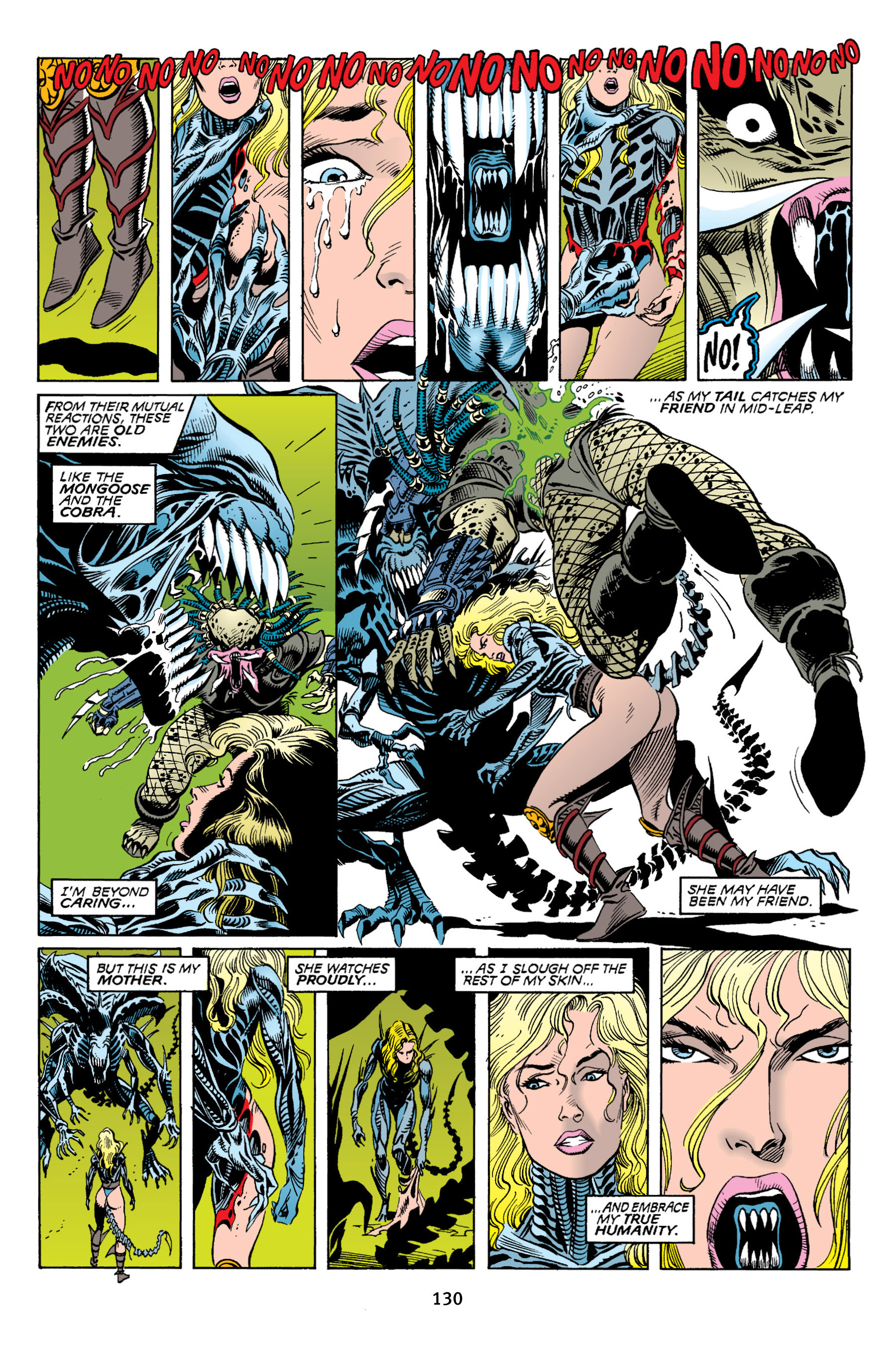 Read online Aliens vs. Predator Omnibus comic -  Issue # _TPB 2 Part 2 - 18