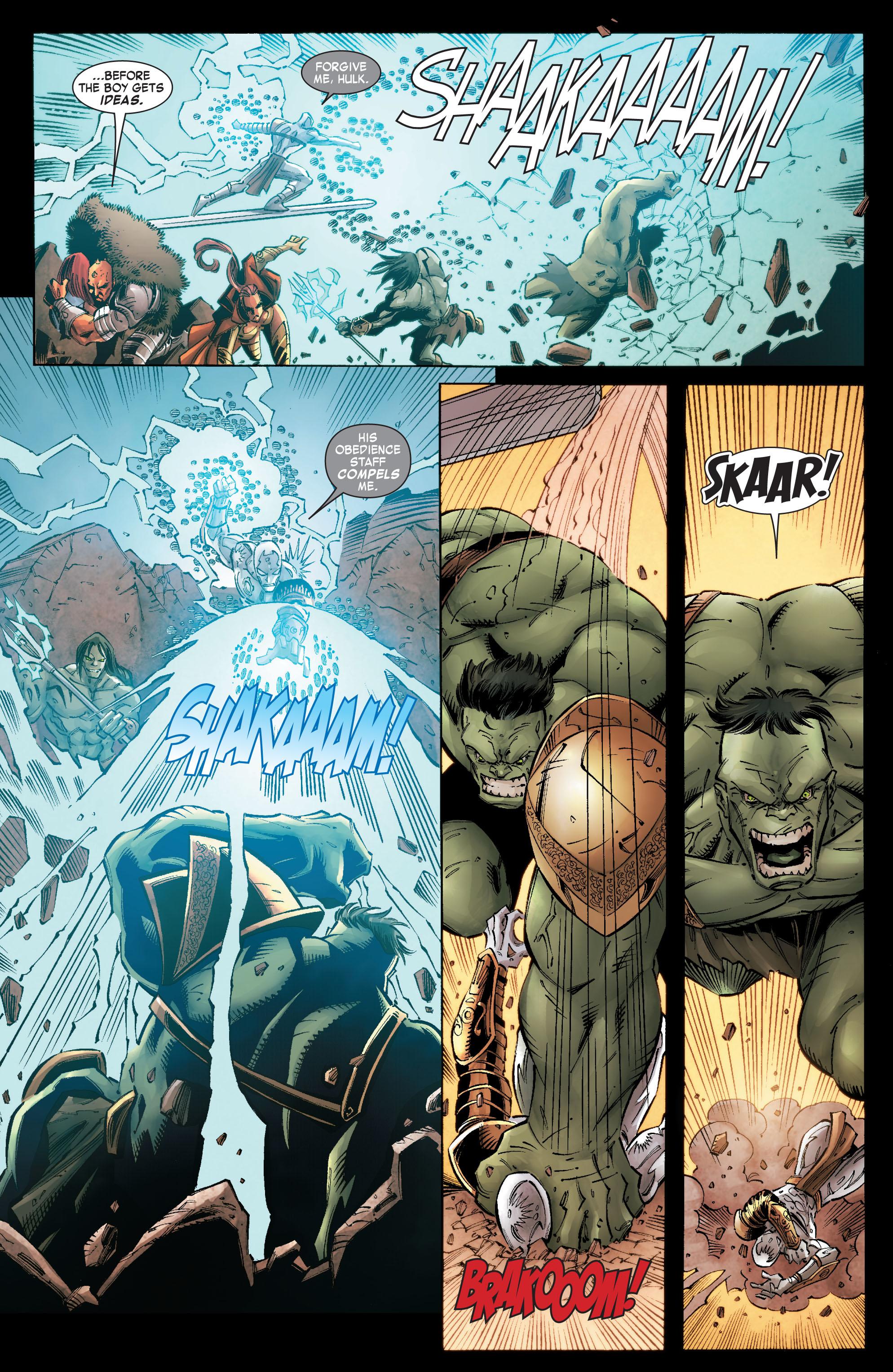 Read online Skaar: Son of Hulk comic -  Issue #9 - 16